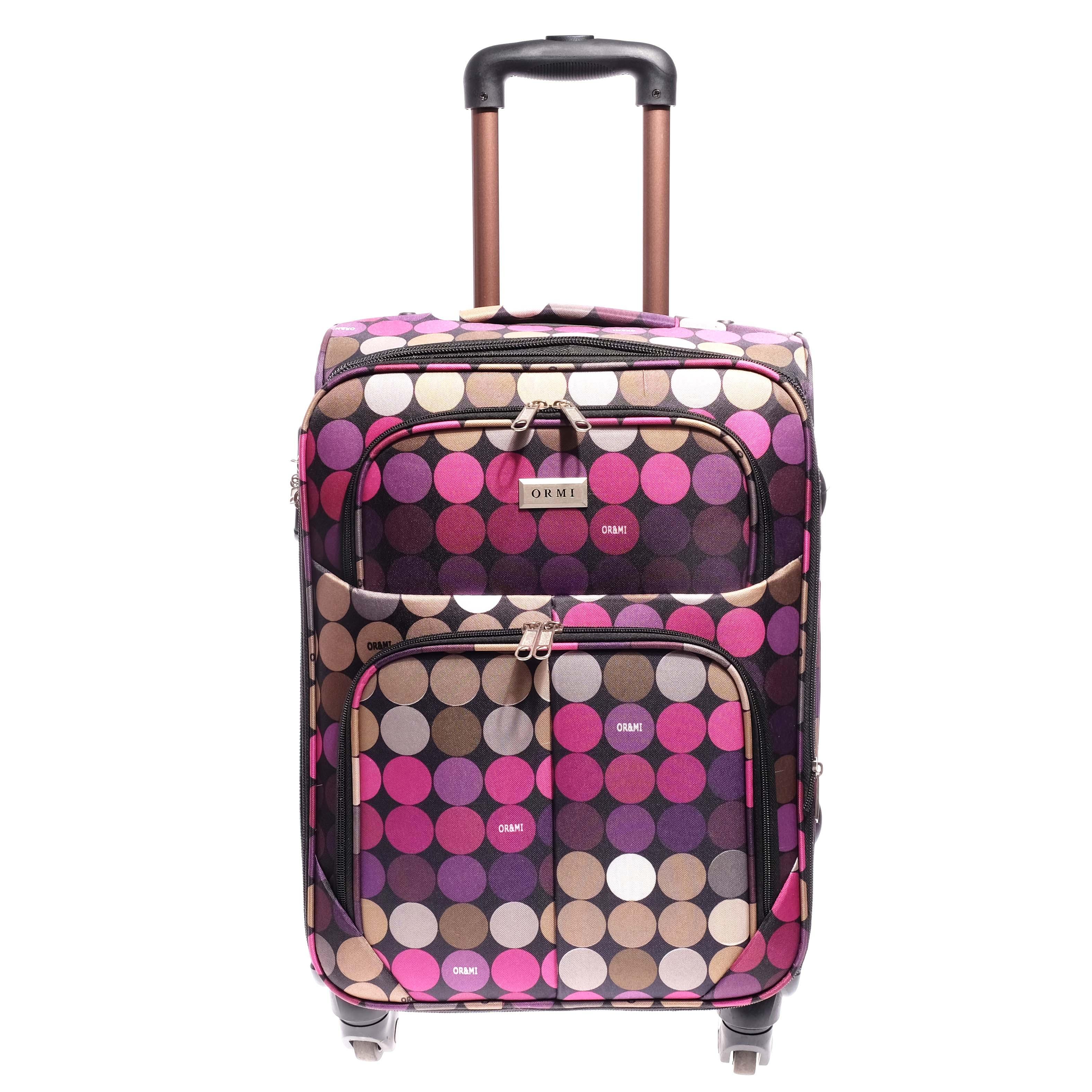 50Cm × 33 Cm × 20 Cm Kabin Méretű Bőrőnd Lila-Khaki (4 Kerekű) - KABIN  (kis) MÉRETŰ BŐRÖNDÖK - Táska webáruház - Minőségi táskák mindenkinek e445df79bd