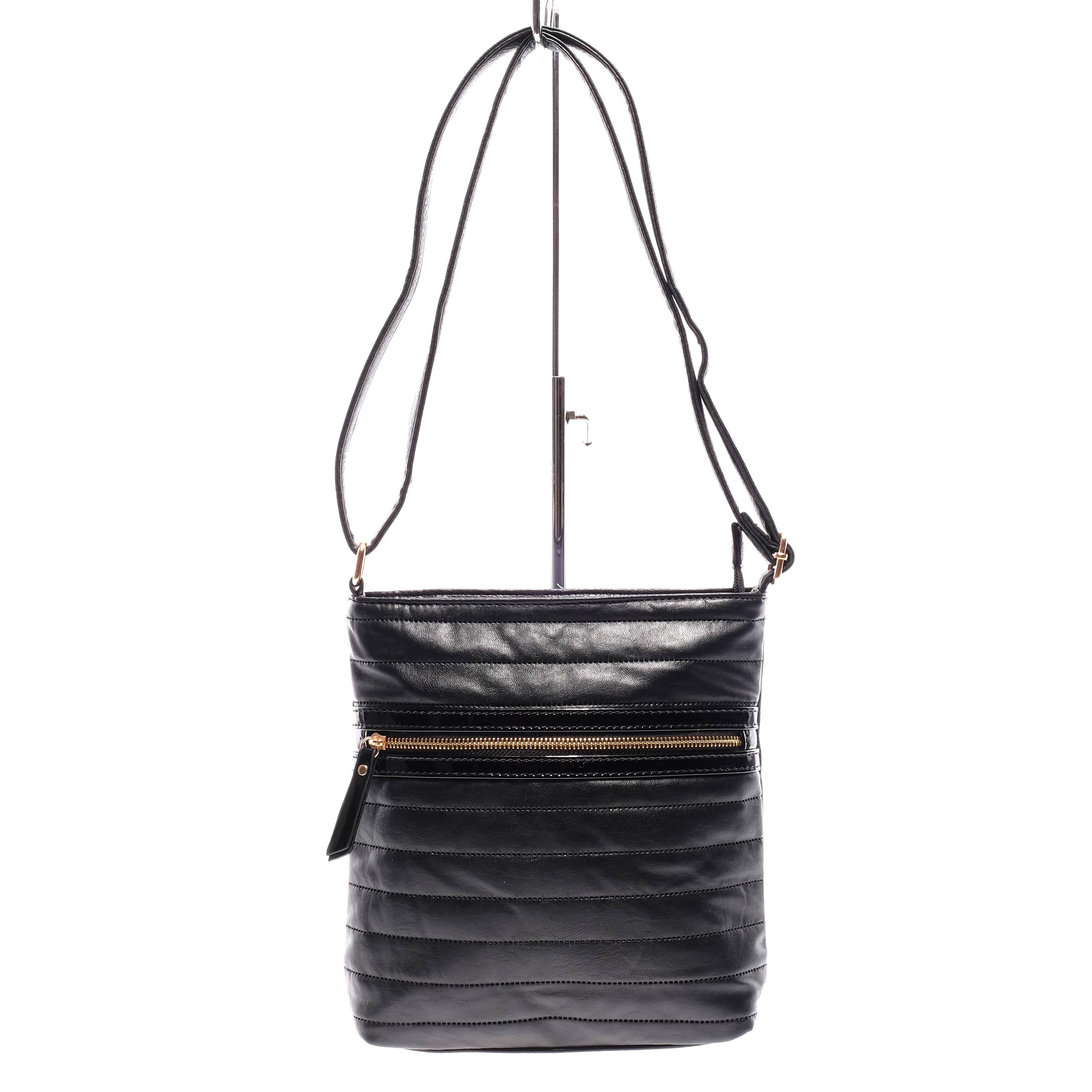 Fekete Színű Női Steppelt Átvetős Oldaltáska - Átvetős Oldaltáskák - Táska  webáruház - Minőségi táskák mindenkinek 099e764fbb