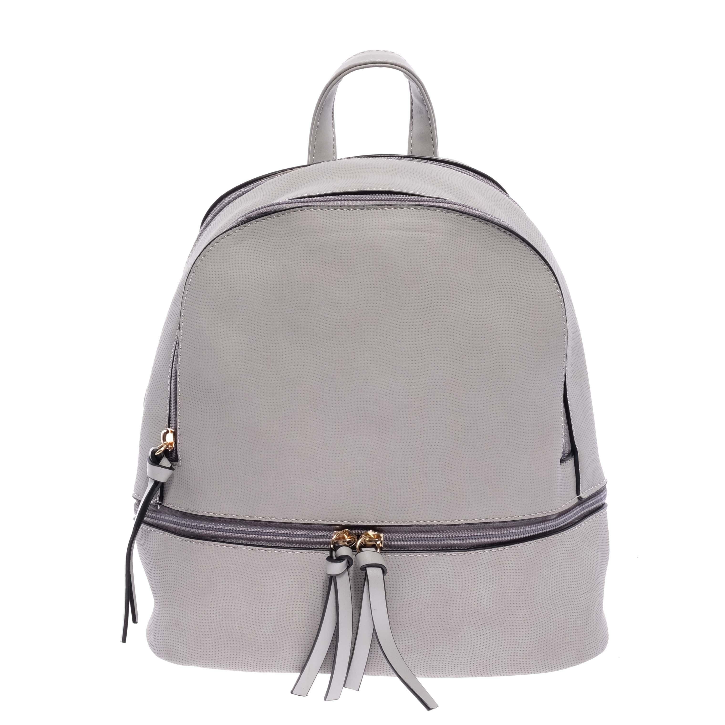 1c4a76b4b95d Szürke Női Műbőr Divat Hátizsák - Műbőr - Táska webáruház - Minőségi táskák  mindenkinek