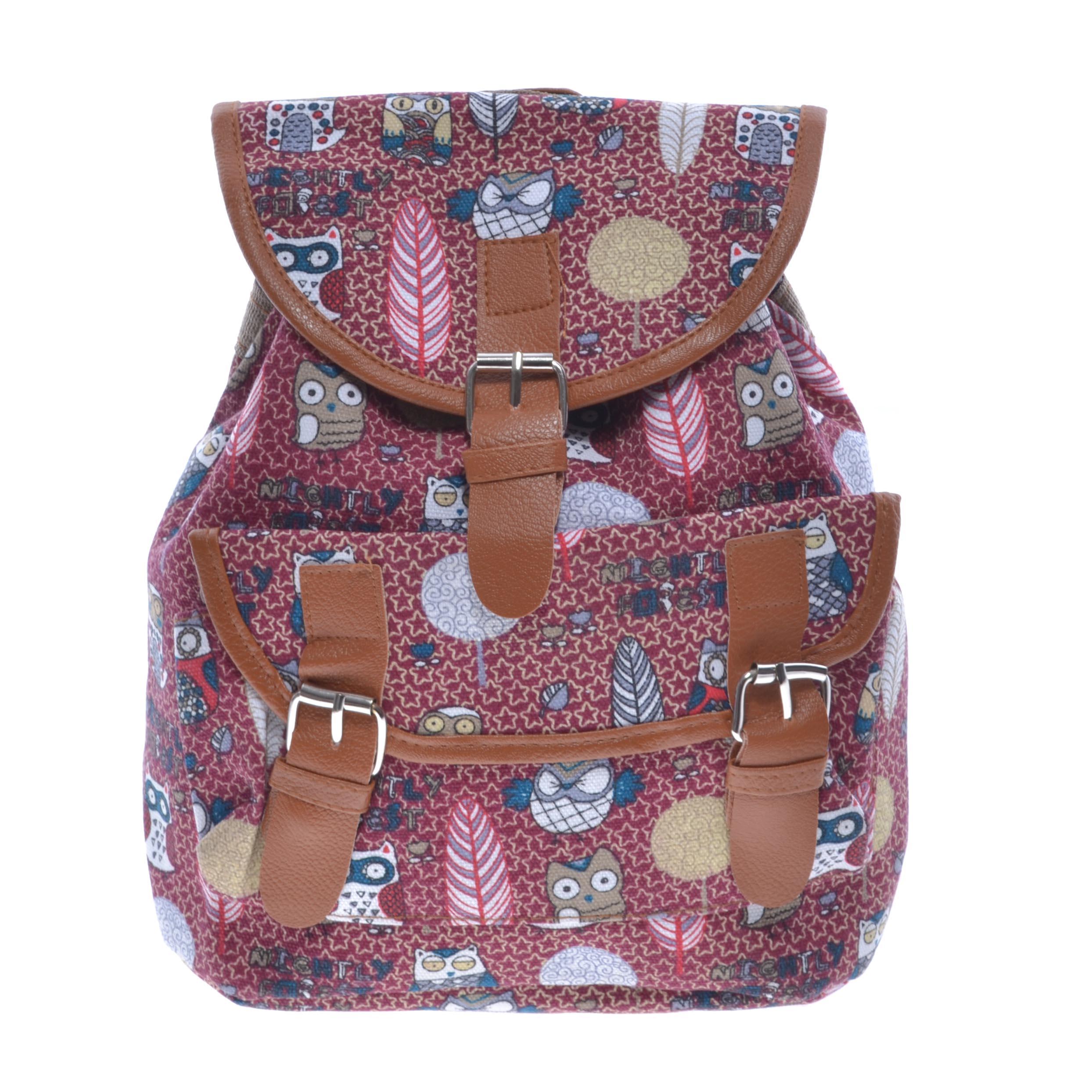 Női Kis Méretű Mintás Vászon Hátizsák - Vászon - Táska webáruház - Minőségi  táskák mindenkinek f9973af0ab