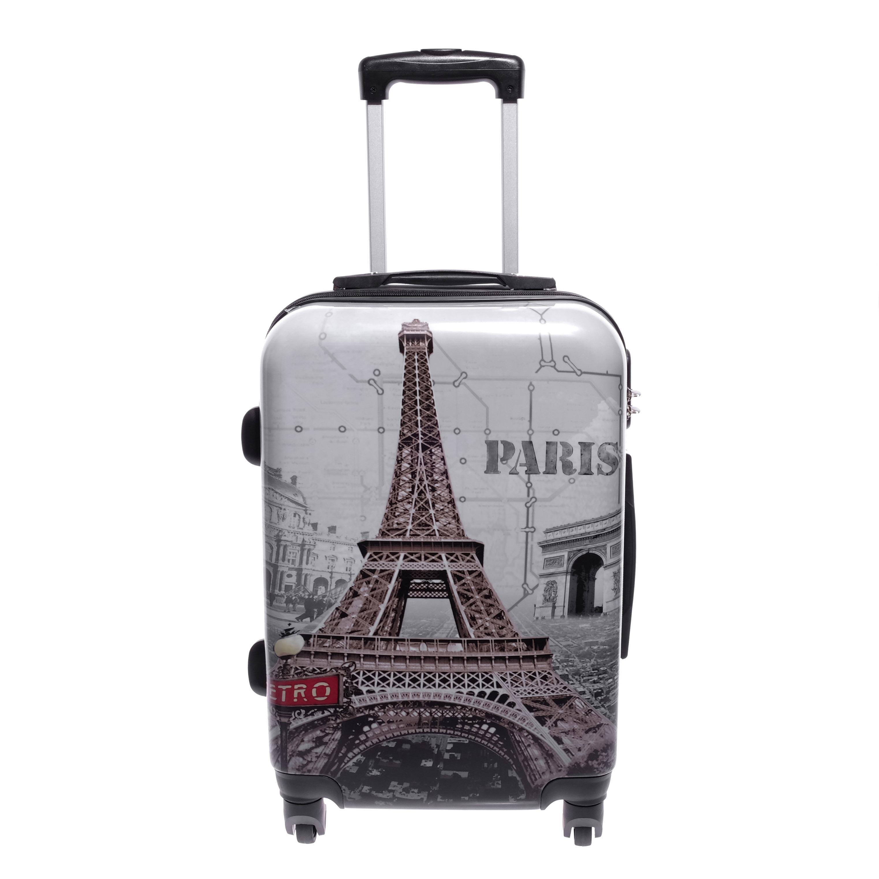 64ccece0c694 Ormi Eiffel Tornyos Kemény Közepes Bőrönd - KÖZEPES MÉRETŰ BŐRÖNDÖK - Táska  webáruház - Minőségi táskák mindenkinek