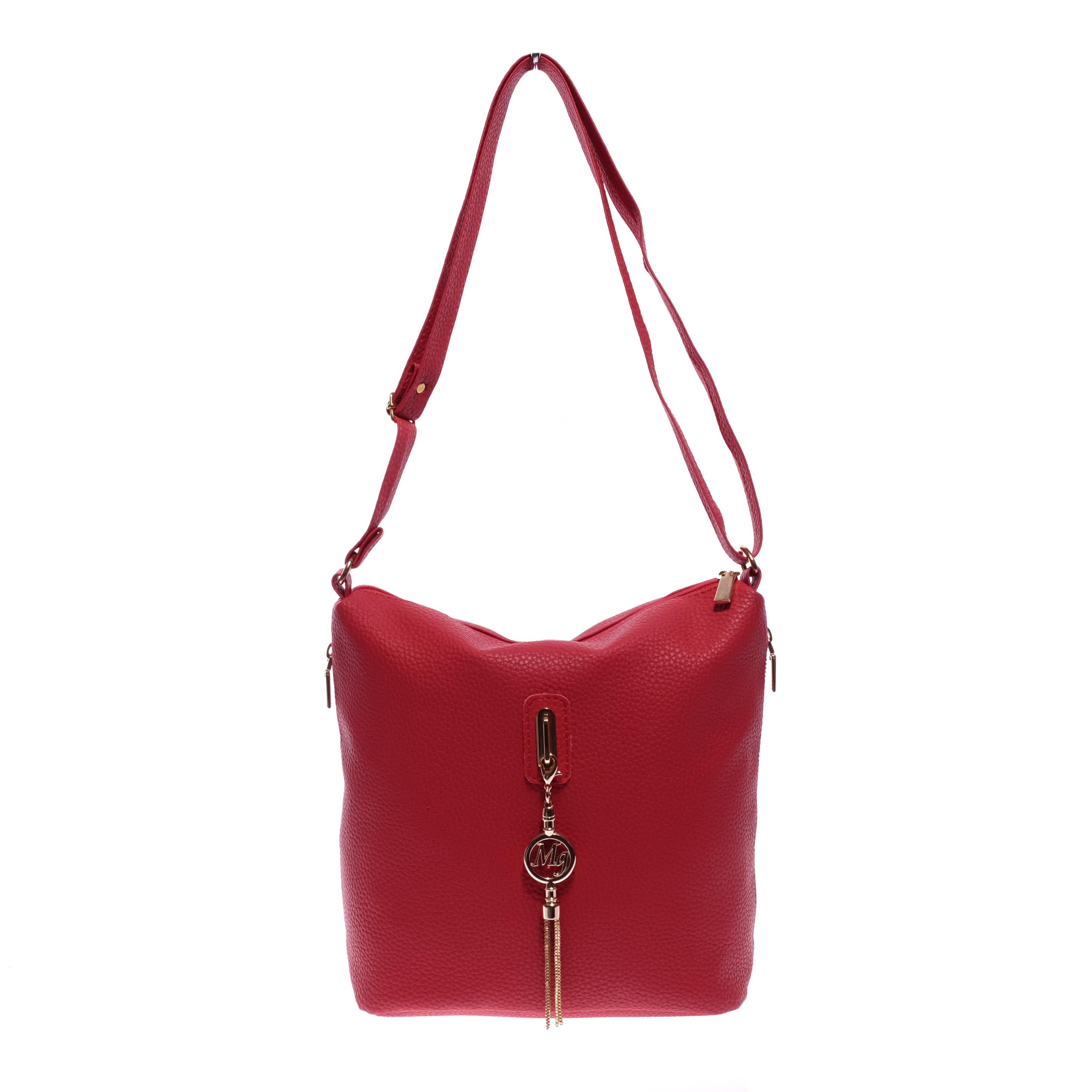 Prestige Rostbőr Piros Női Válltáska - Válltáskák - Táska webáruház - Minőségi  táskák mindenkinek e8c9ec751d
