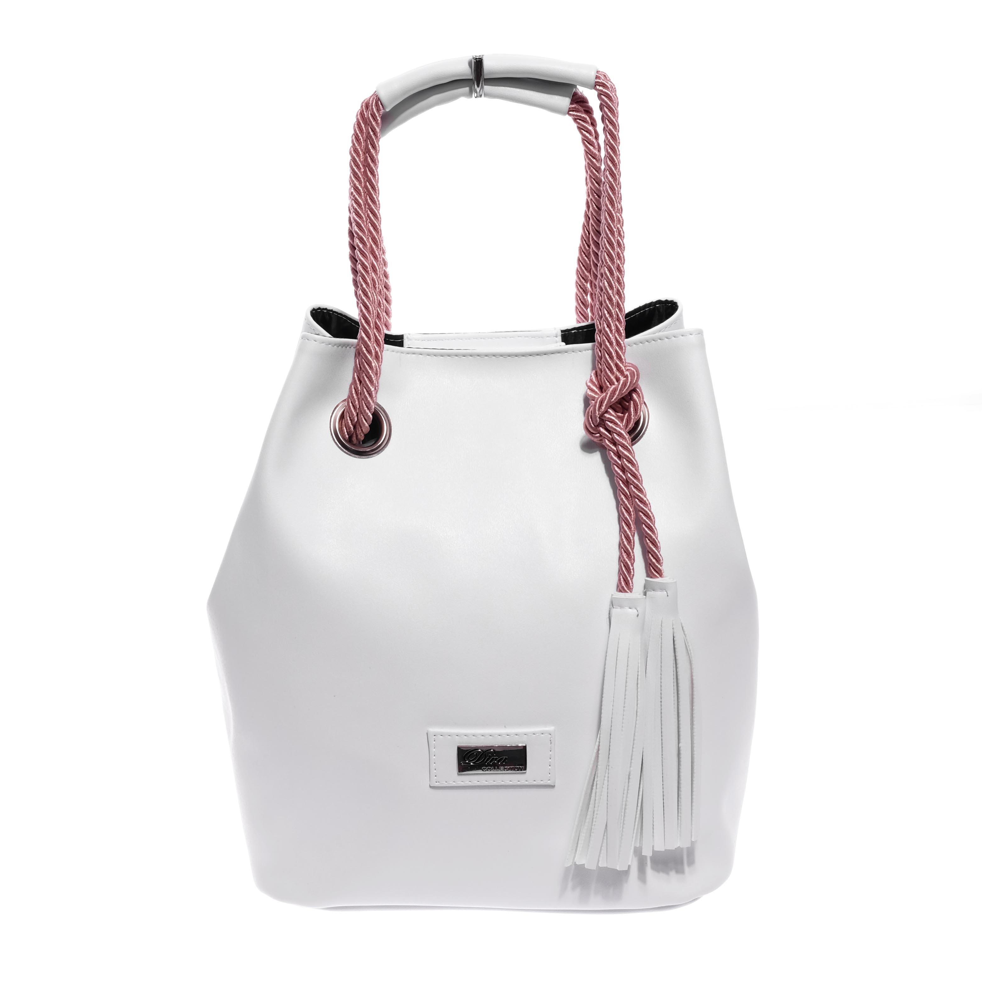 Diva Fehér Női Rostbőr Válltáska - Válltáskák - Táska webáruház - Minőségi  táskák mindenkinek 9c3e52427c