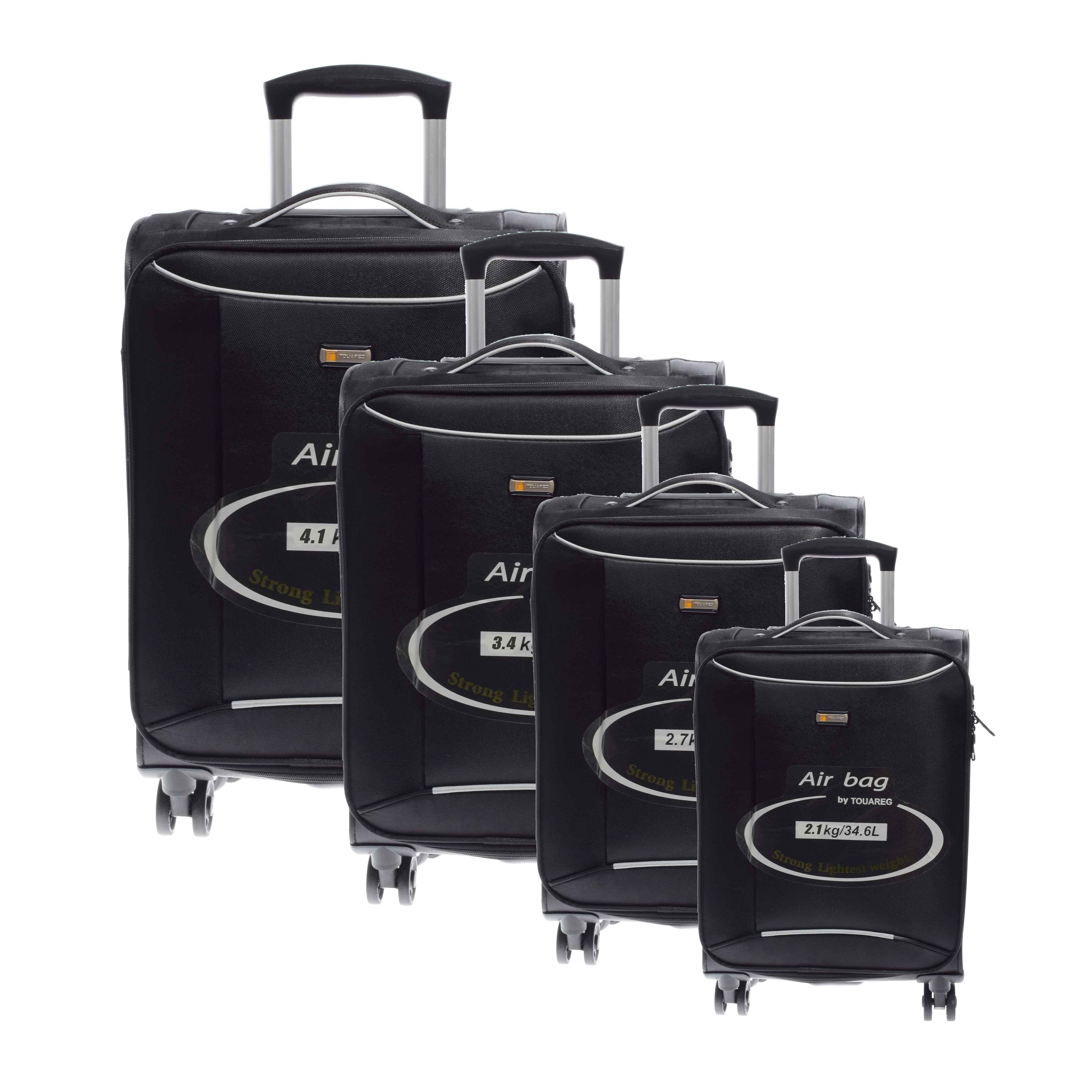 22f5b73c7fdb 14N121 Fekete Touareg puha Bőrönd Szett - Touareg - Táska webáruház - Minőségi  táskák mindenkinek