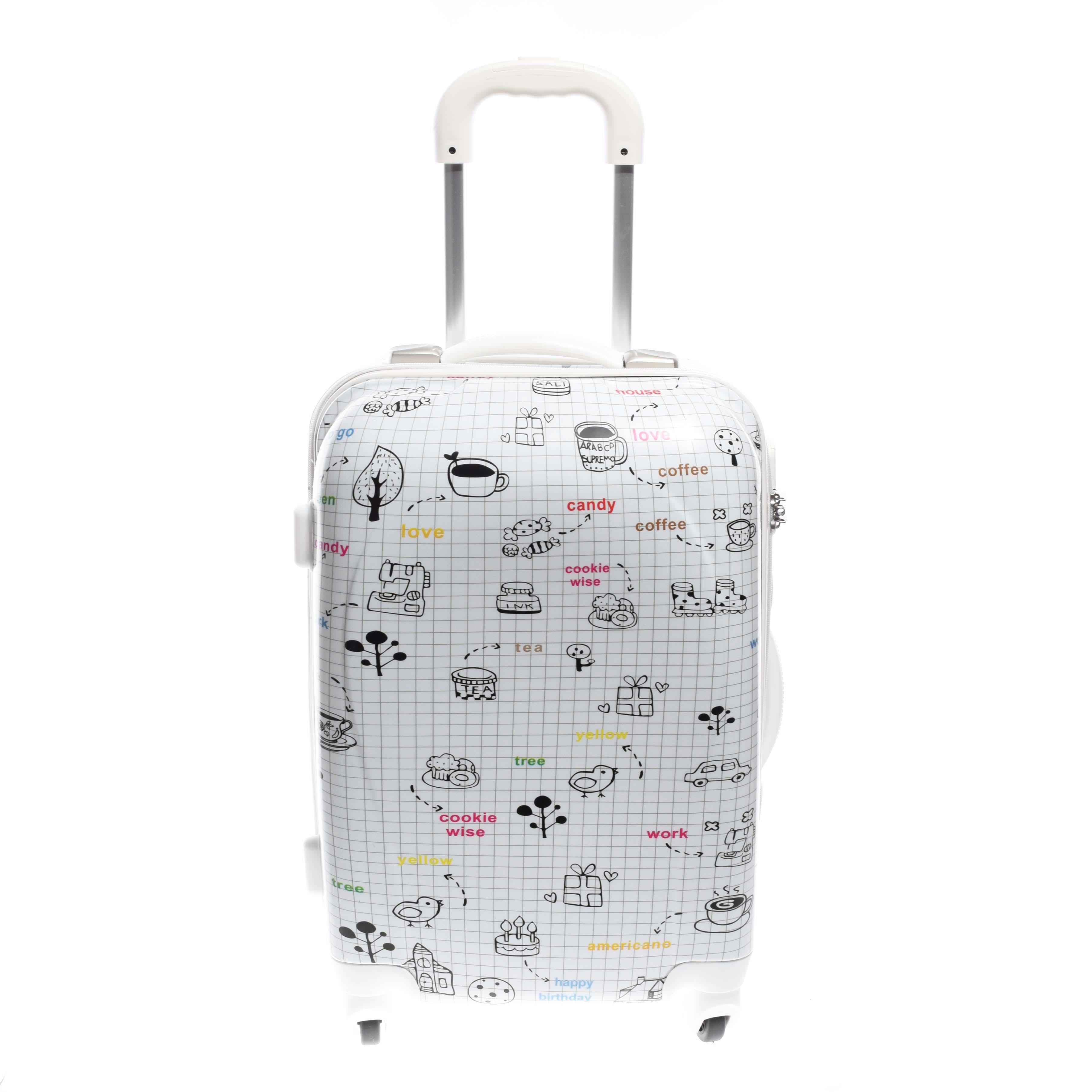 Ormi Fekete-Fehér Kemény Kabin Bőrönd - KABIN (kis) MÉRETŰ BŐRÖNDÖK - Táska  webáruház - Minőségi táskák mindenkinek 87589ac45f