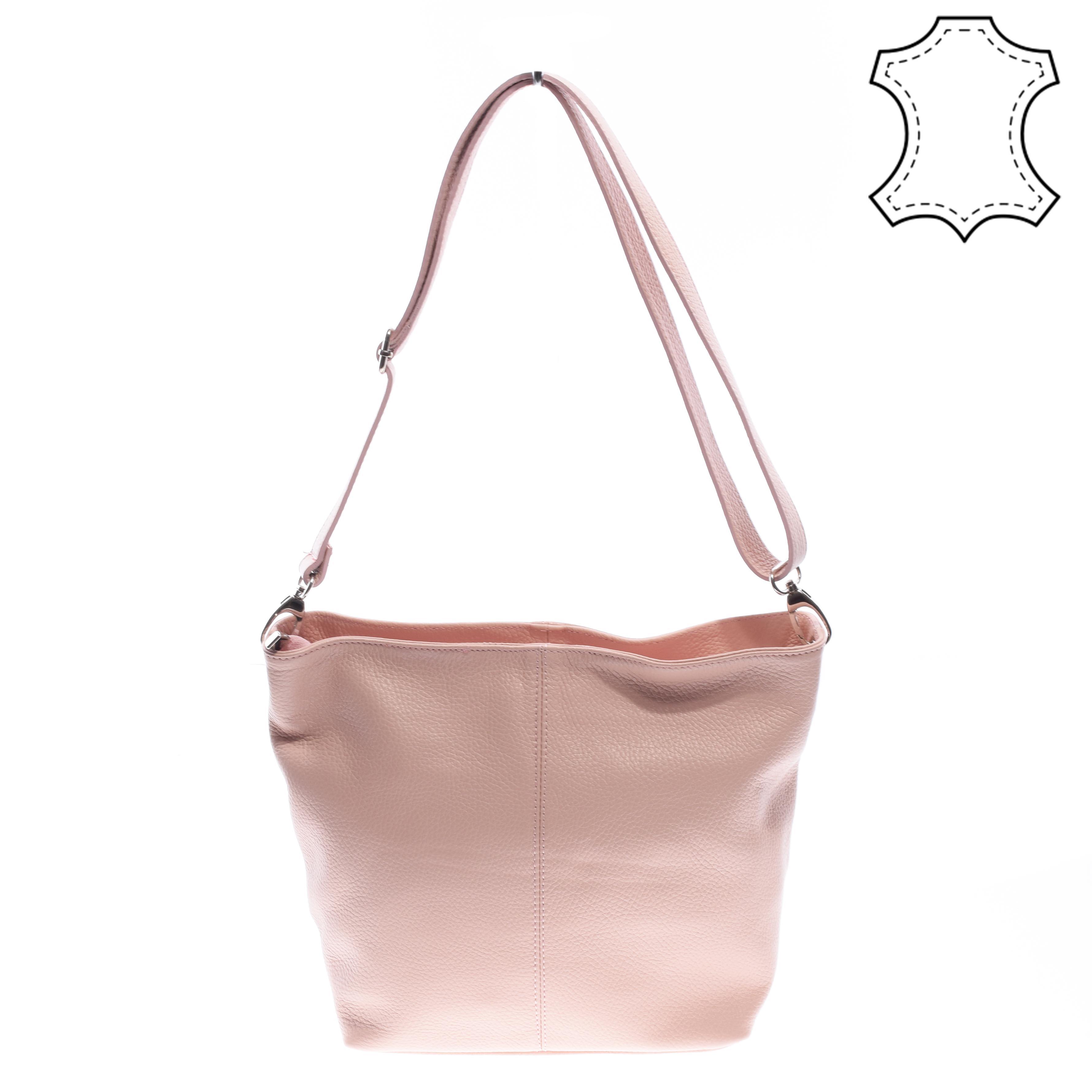 e1b70acc294c Valódi Bőr Női Oldaltáska Rózsaszín - Kézitáskák - Táska webáruház - Minőségi  táskák mindenkinek