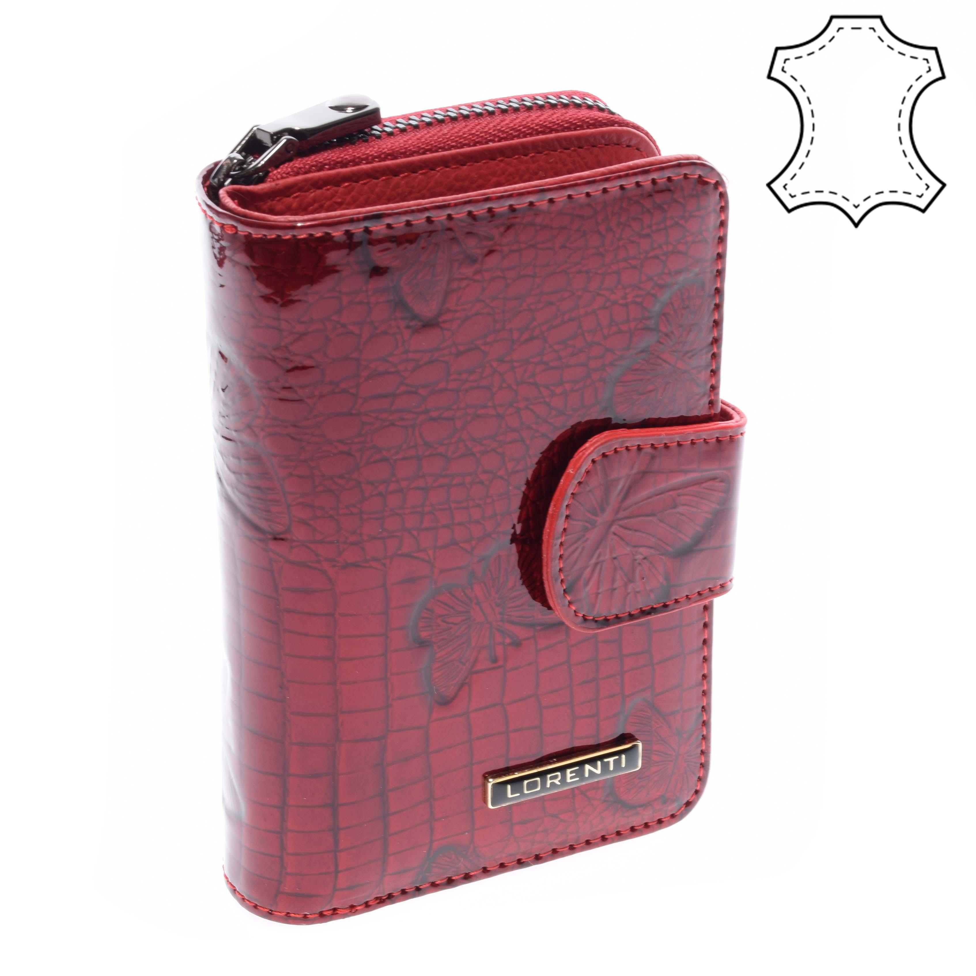 e970b06721 Lorenti Női Piros Lakkbőr Pénztárca - NŐI PÉNZTÁRCÁK - Táska webáruház - Minőségi  táskák mindenkinek
