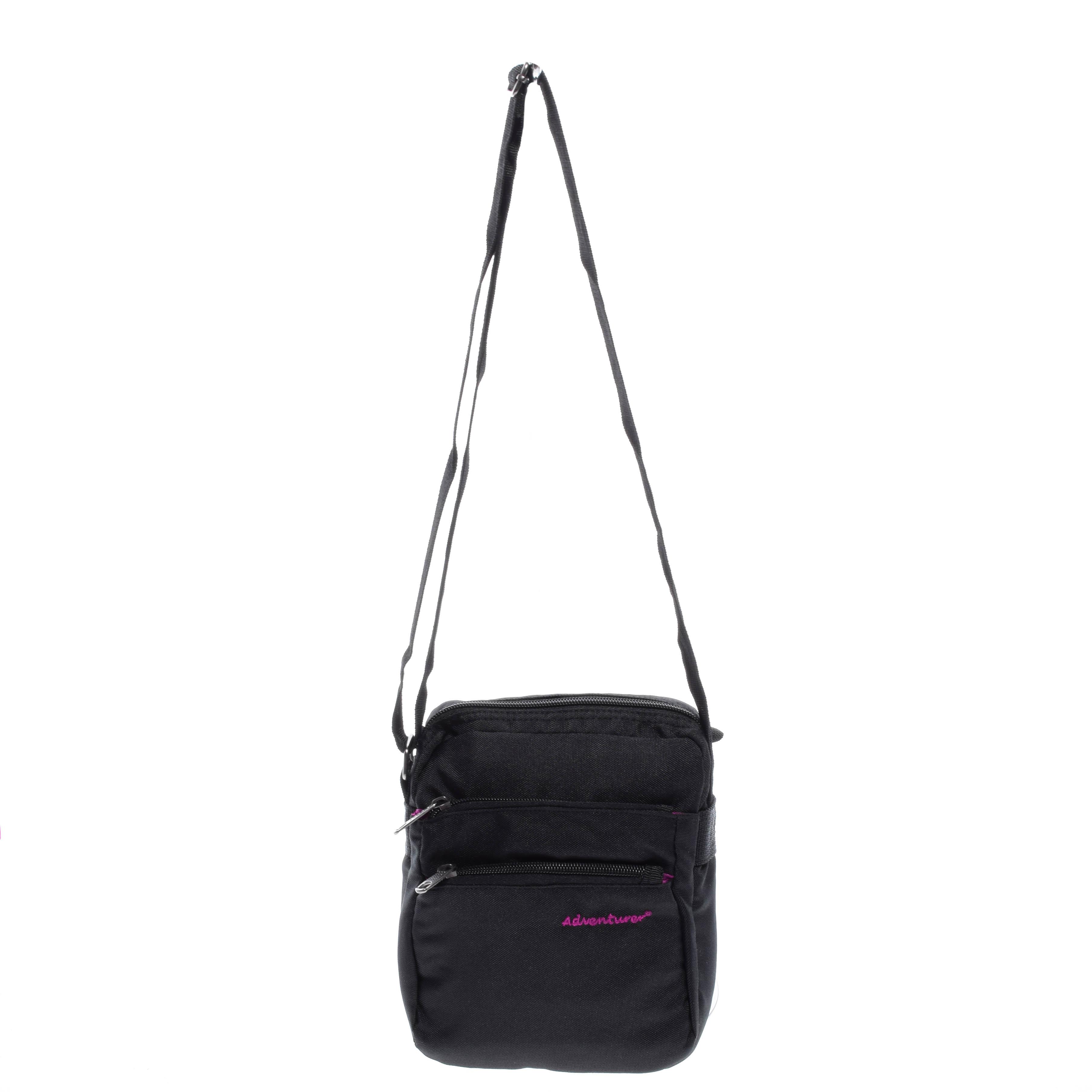 cc389d088426 Adventurer Fekete/Rózsaszín Oldaltáska - OLDALTÁSKÁK - Táska webáruház -  Minőségi táskák mindenkinek