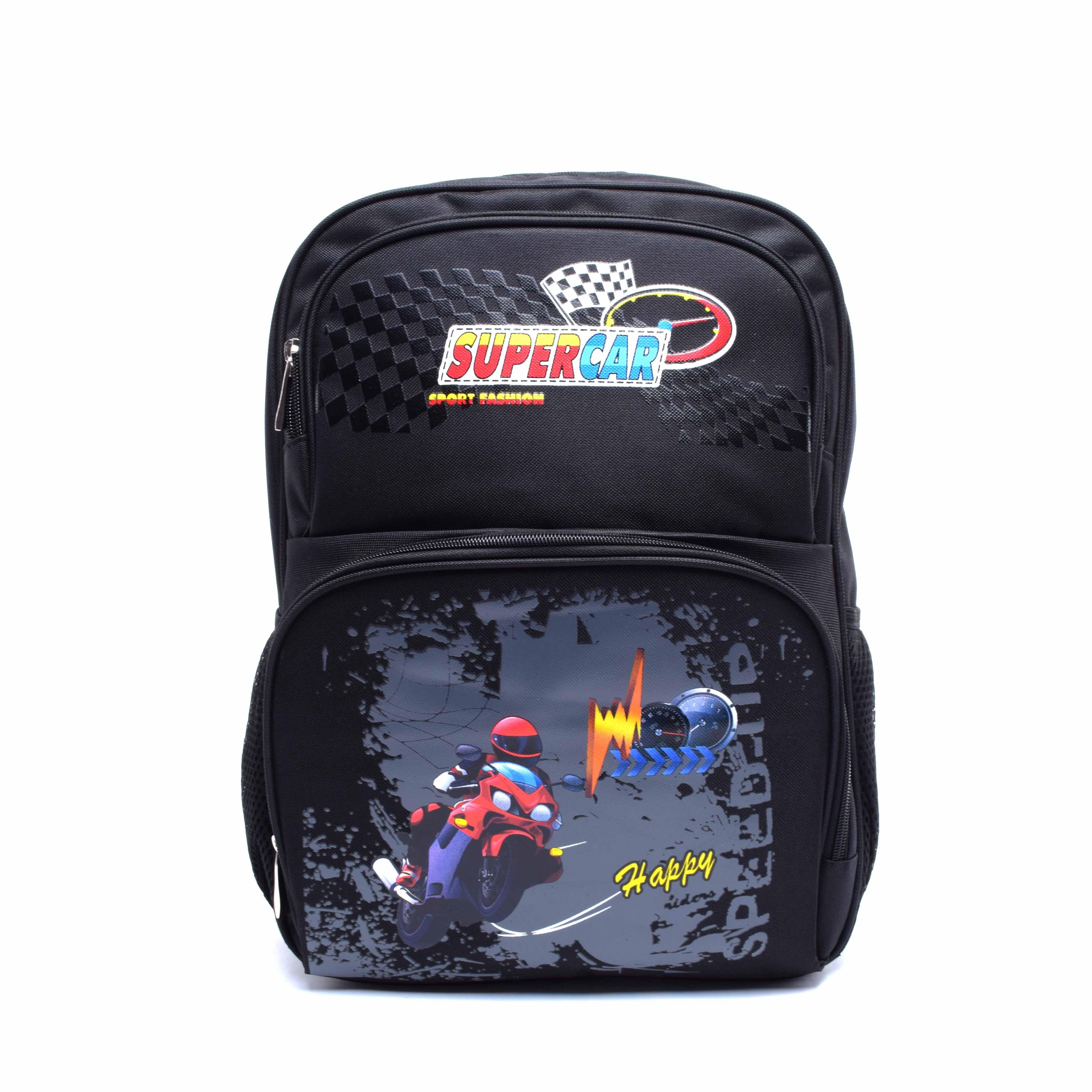 Hátizsák Iskolatáska Gyerekeknek Motoros Fekete - ISKOLATÁSKÁK - Táska  webáruház - Minőségi táskák mindenkinek 7bea20fabb