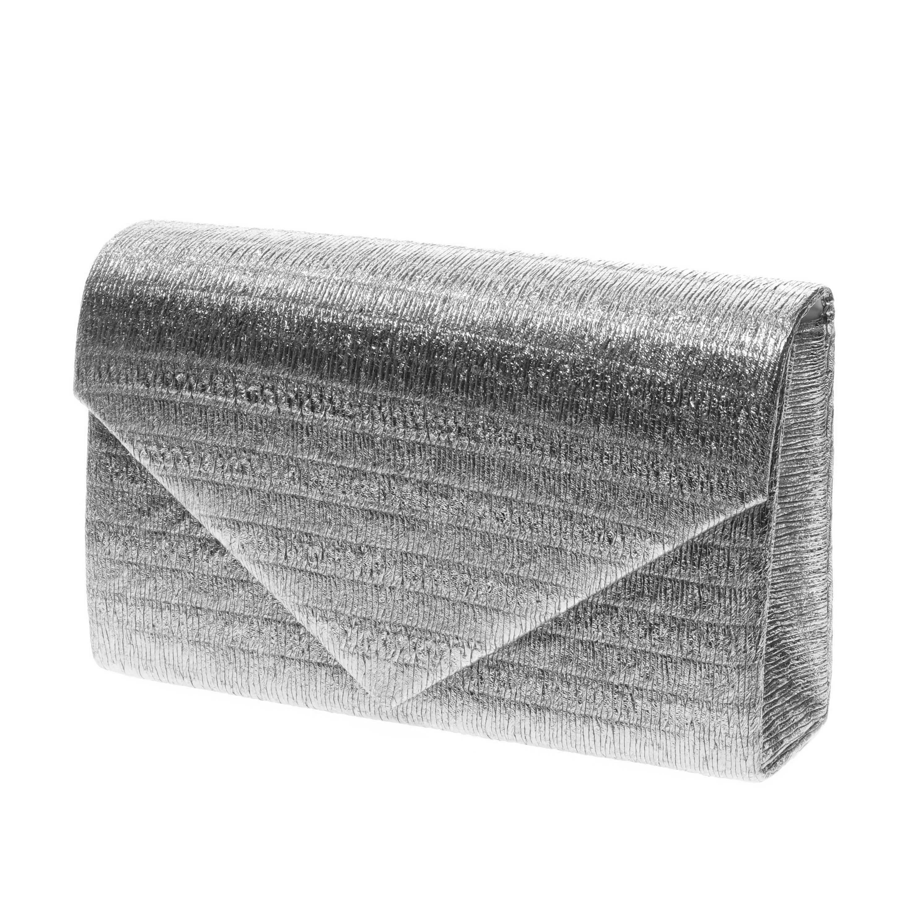 Ezüst színű női poliészter alkalmi táska - Alkalmi táskák - Táska webáruház  - Minőségi táskák mindenkinek 83f3d12dac
