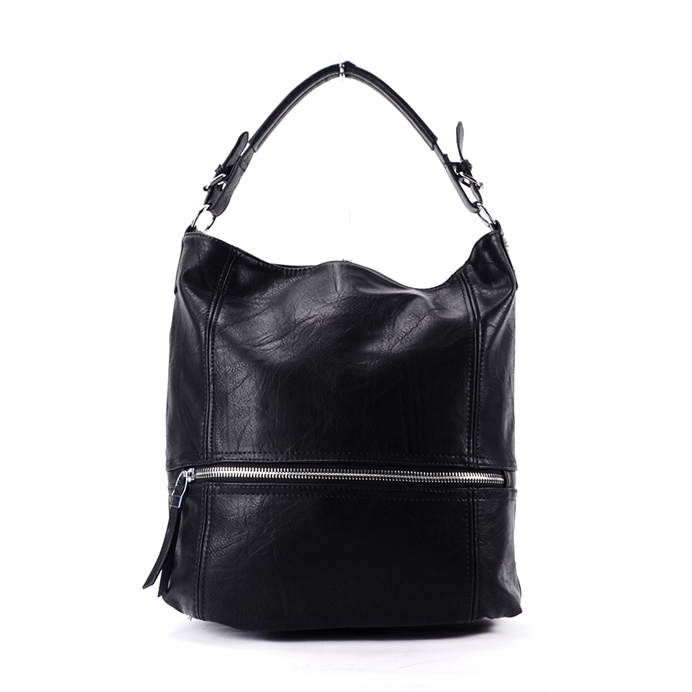 Besty Fekete Nagy Méretű Válltáska - Válltáskák - Táska webáruház -  Minőségi táskák mindenkinek b3185fe655