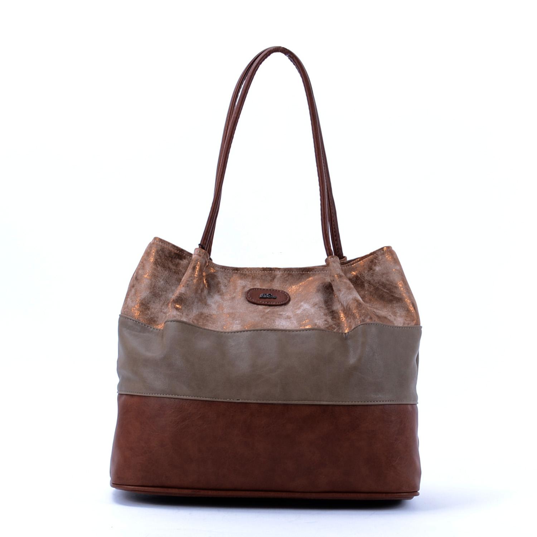 Diva Női Csíkos Barna Homok Bronz Csíkos - Válltáskák - Táska webáruház -  Minőségi táskák mindenkinek c2d364c387