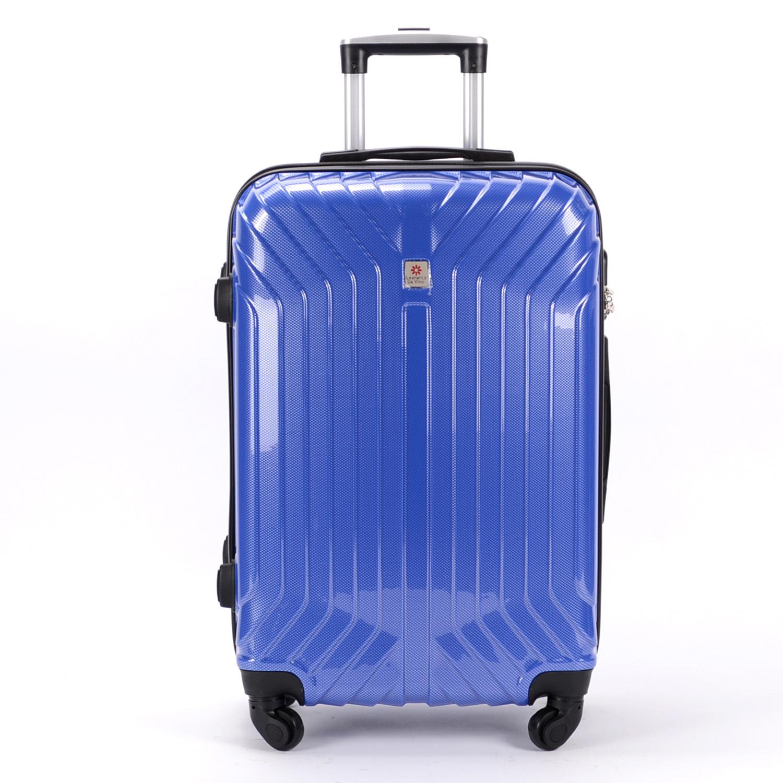 688d9984b0db Leonardo Da Vinci Go! Kemény Kis Bőrőnd Kék (4 Kerekű) - KABIN (kis) MÉRETŰ  BŐRÖNDÖK - Táska webáruház - Minőségi táskák mindenkinek