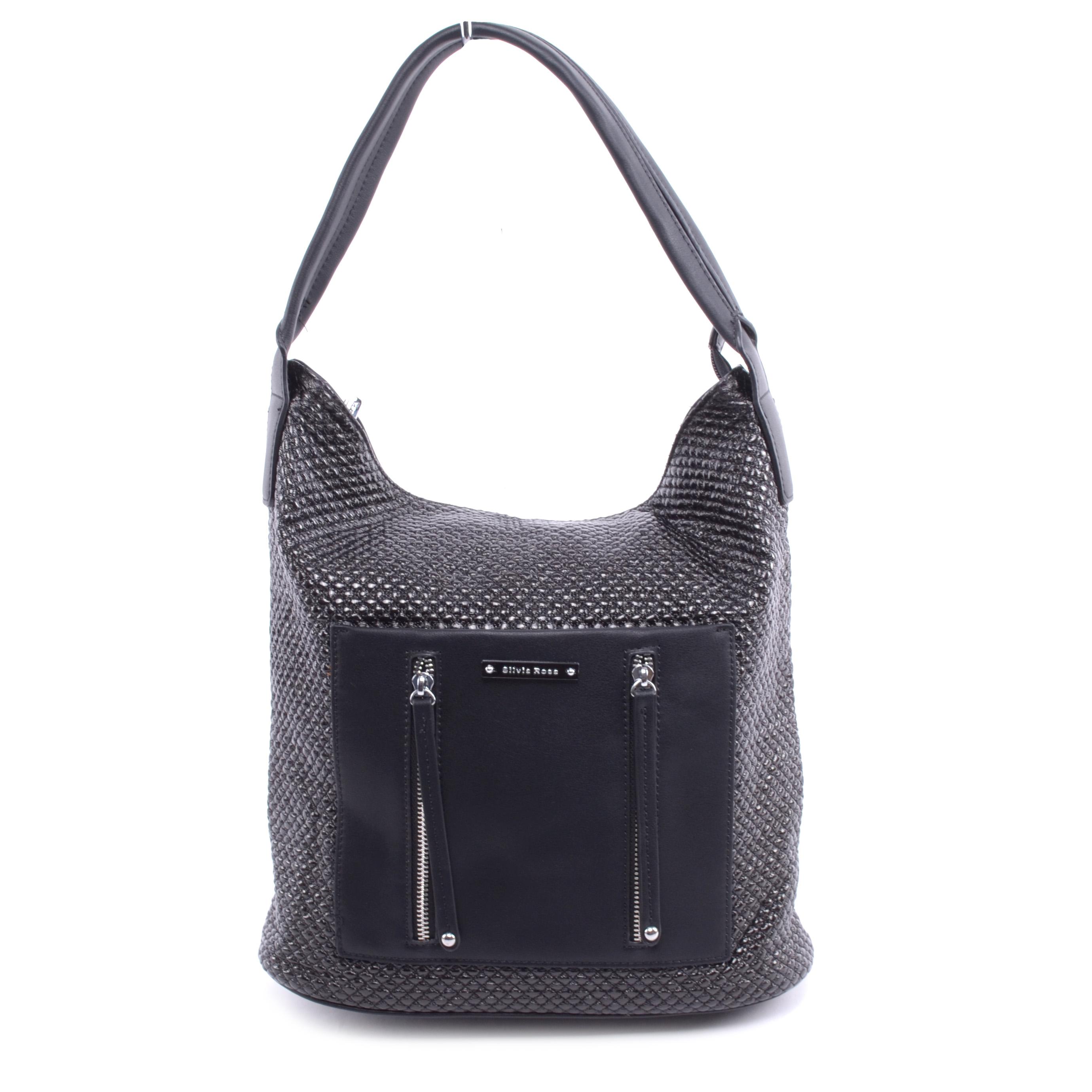 Silviarosa Női Műbőr Válltáska Fekete - Válltáskák - Táska webáruház -  Minőségi táskák mindenkinek b117c9fce3