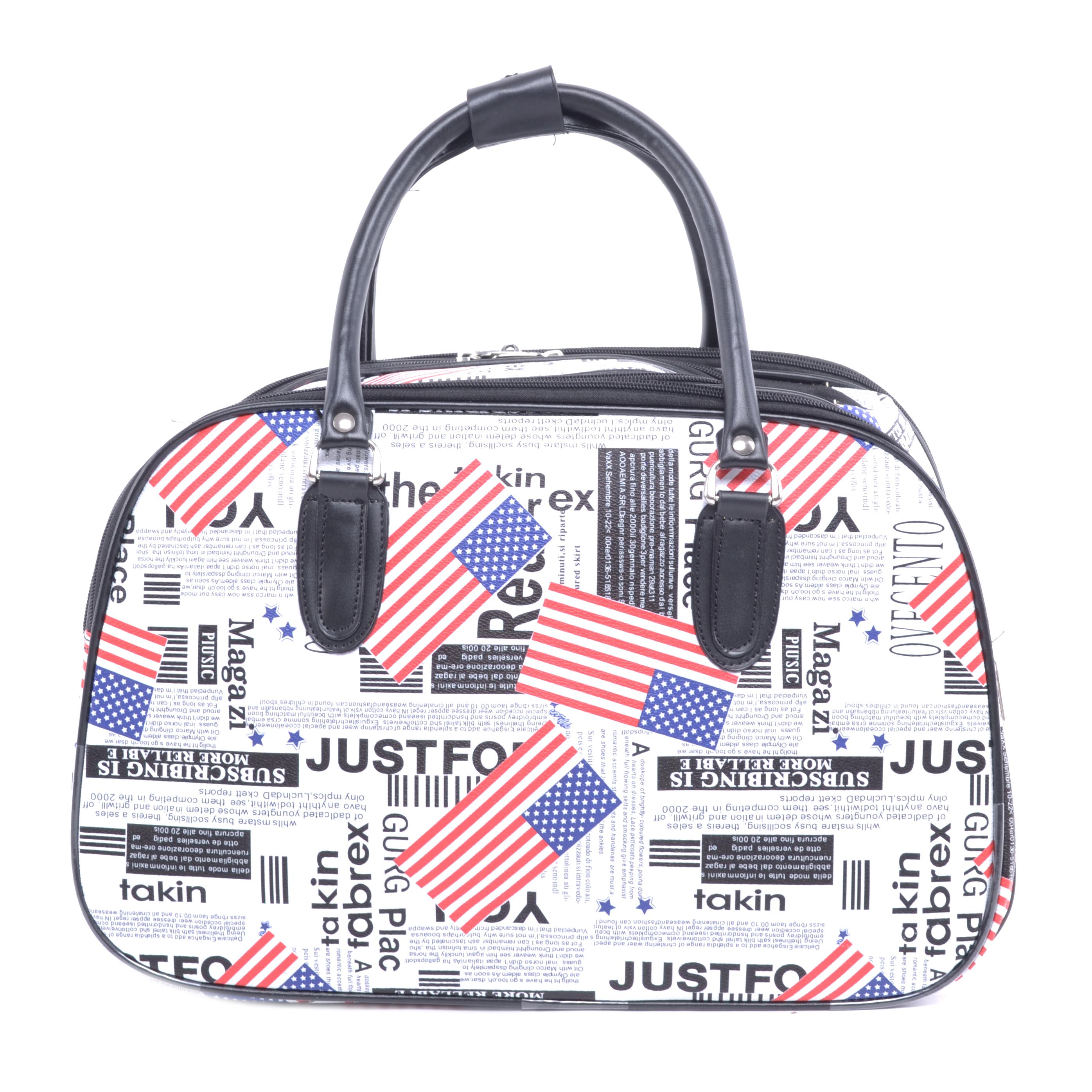 Besty Wizzair Amerikai Zászlós Fényes Szövet Utazótáska - KIS MÉRETŰ  UTAZÓTÁSKA - Táska webáruház - Minőségi táskák mindenkinek 67d61b0070