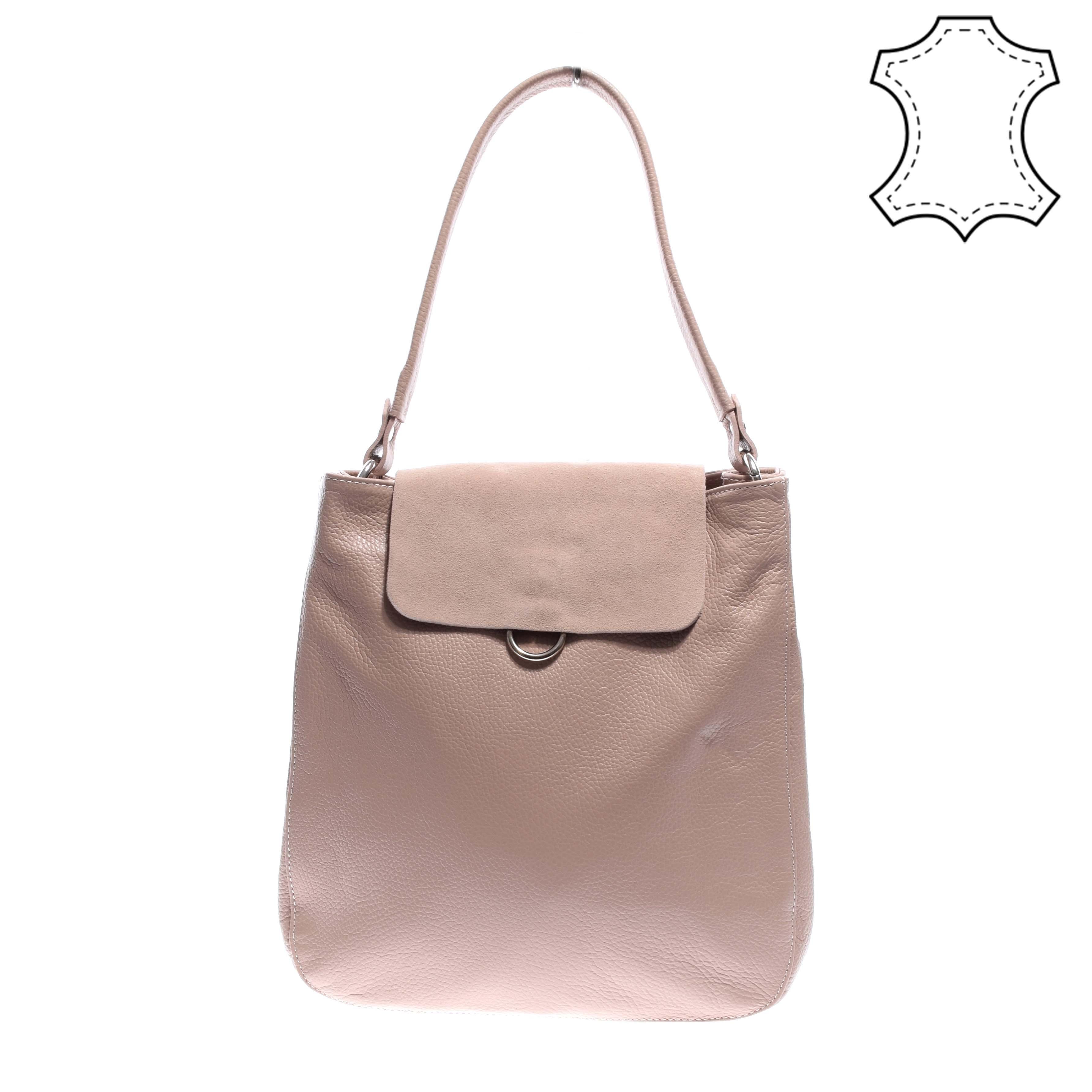 f7b51a78724d Női rózsaszín valódibőr válltáska - VALÓDI BŐRTÁSKÁK - Táska webáruház - Minőségi  táskák mindenkinek