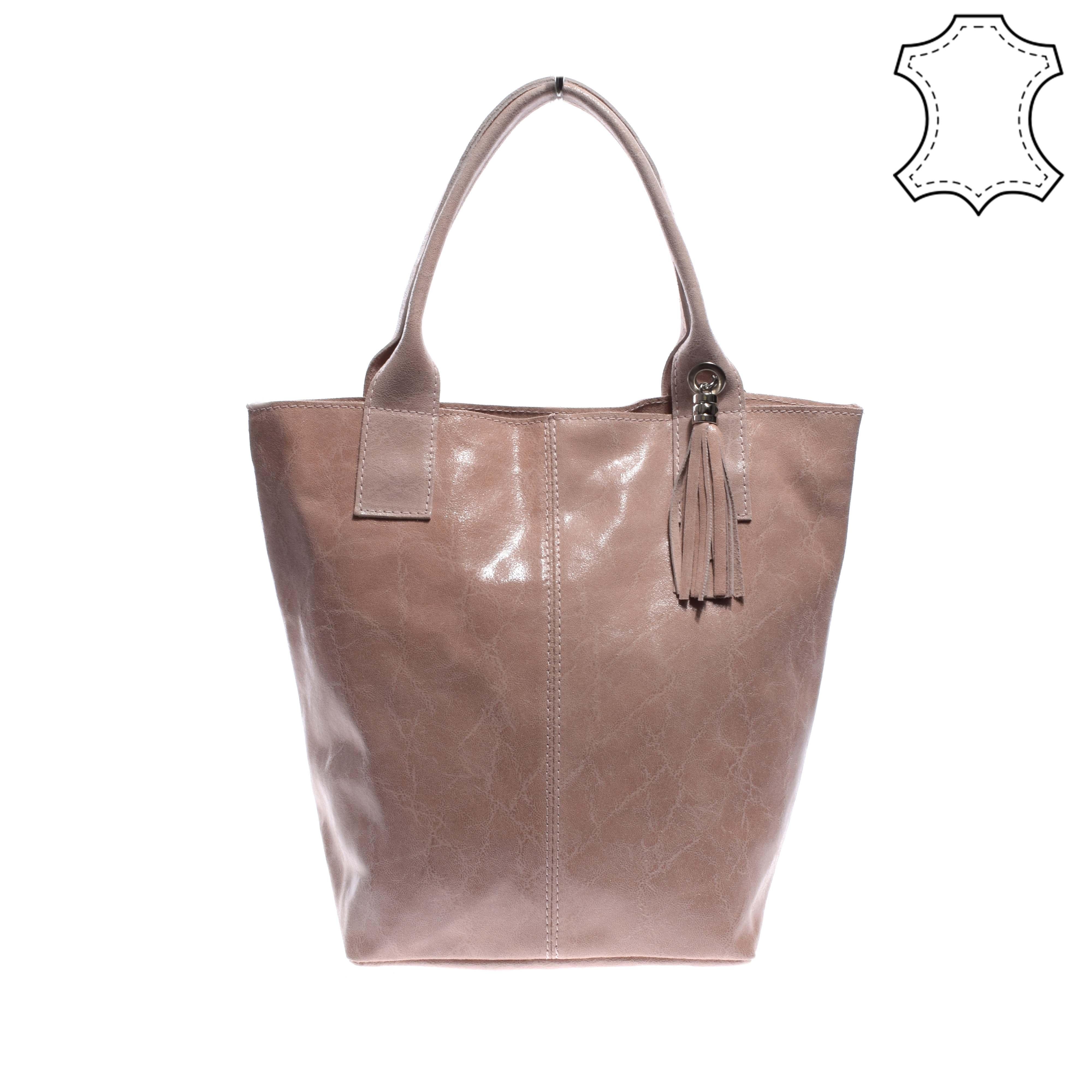 Női rózsaszín lakkozott valódibőr válltáska - VALÓDI BŐRTÁSKÁK - Táska  webáruház - Minőségi táskák mindenkinek e58f57ff04