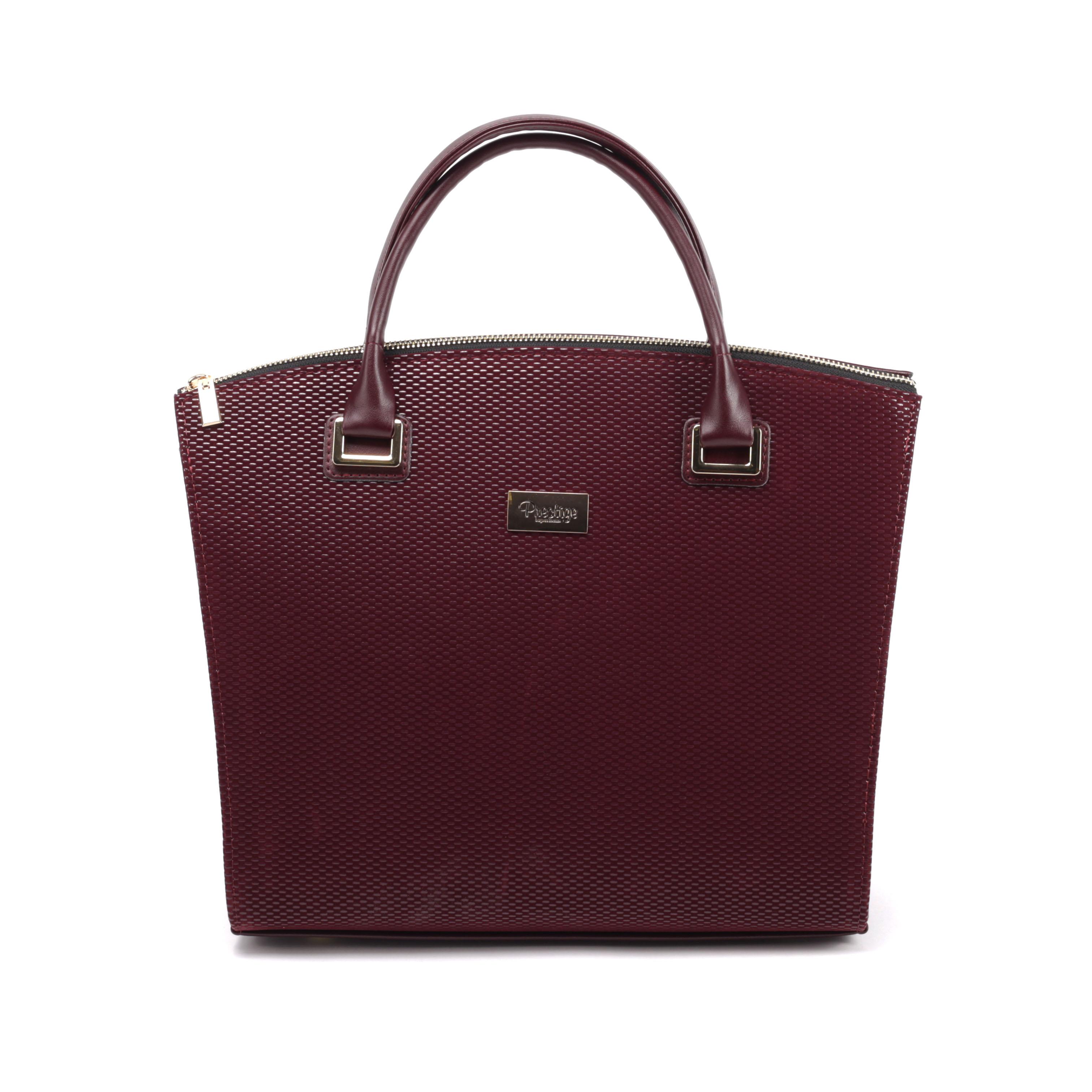 Prestige Bordó Színű Rostbőr Kézitáska - Kézitáskák - Táska webáruház - Minőségi  táskák mindenkinek 39713681c7