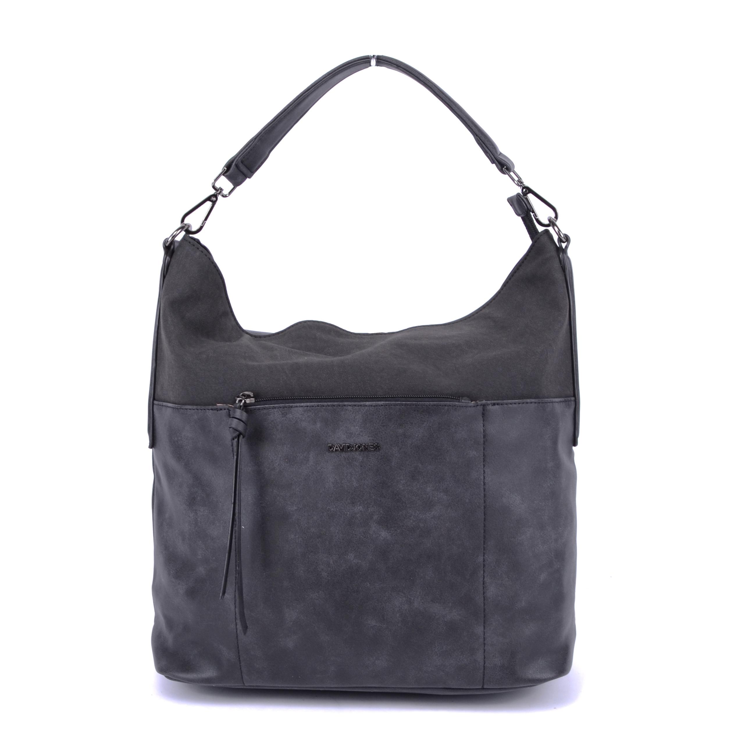 David Jones Fekete Színű Női Műbőr Válltáska - Válltáskák - Táska webáruház  - Minőségi táskák mindenkinek 6f697dc75c