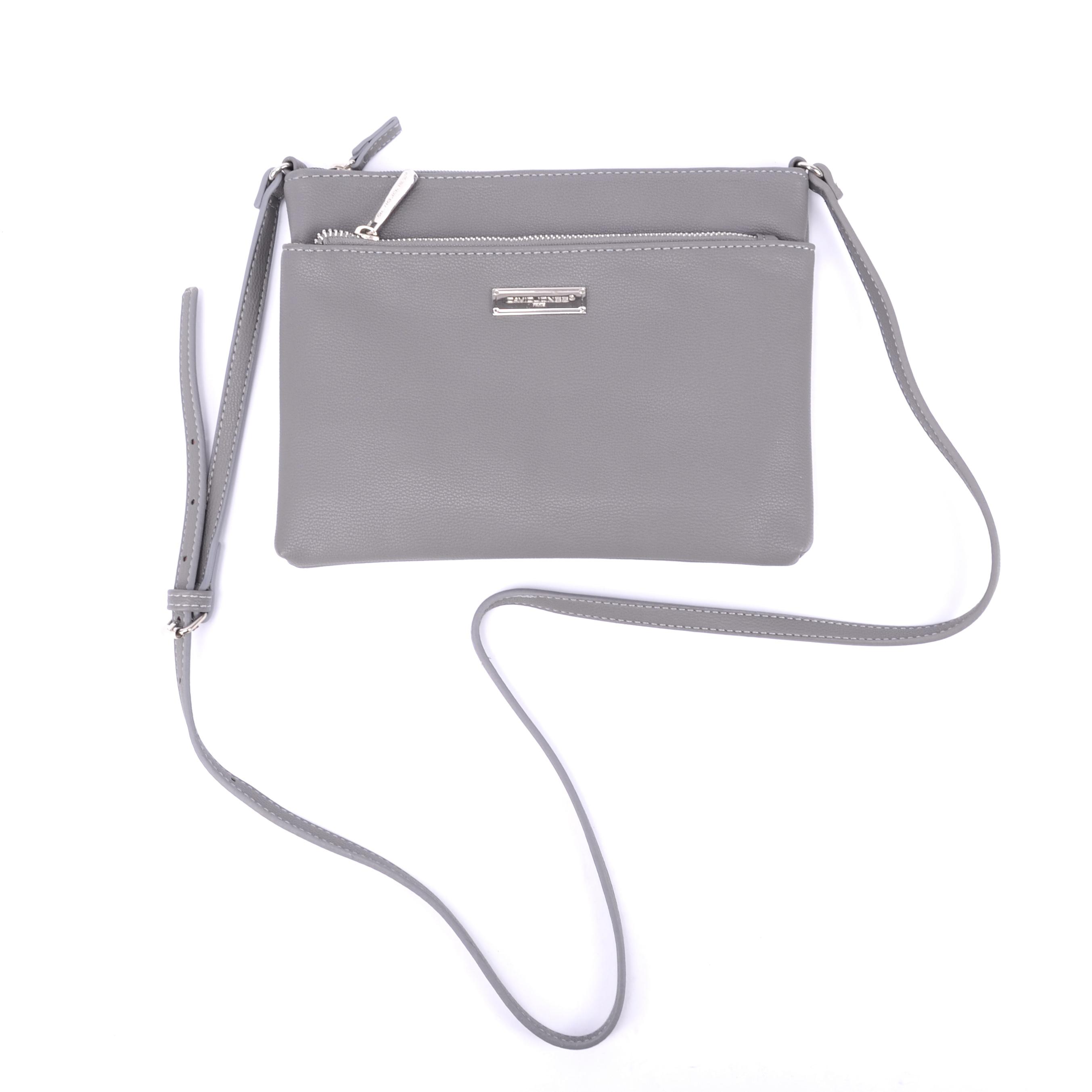 David Jones Szürke Női Műbőr Oldaltáska - Átvetős Oldaltáskák - Táska  webáruház - Minőségi táskák mindenkinek e8e72a4ced