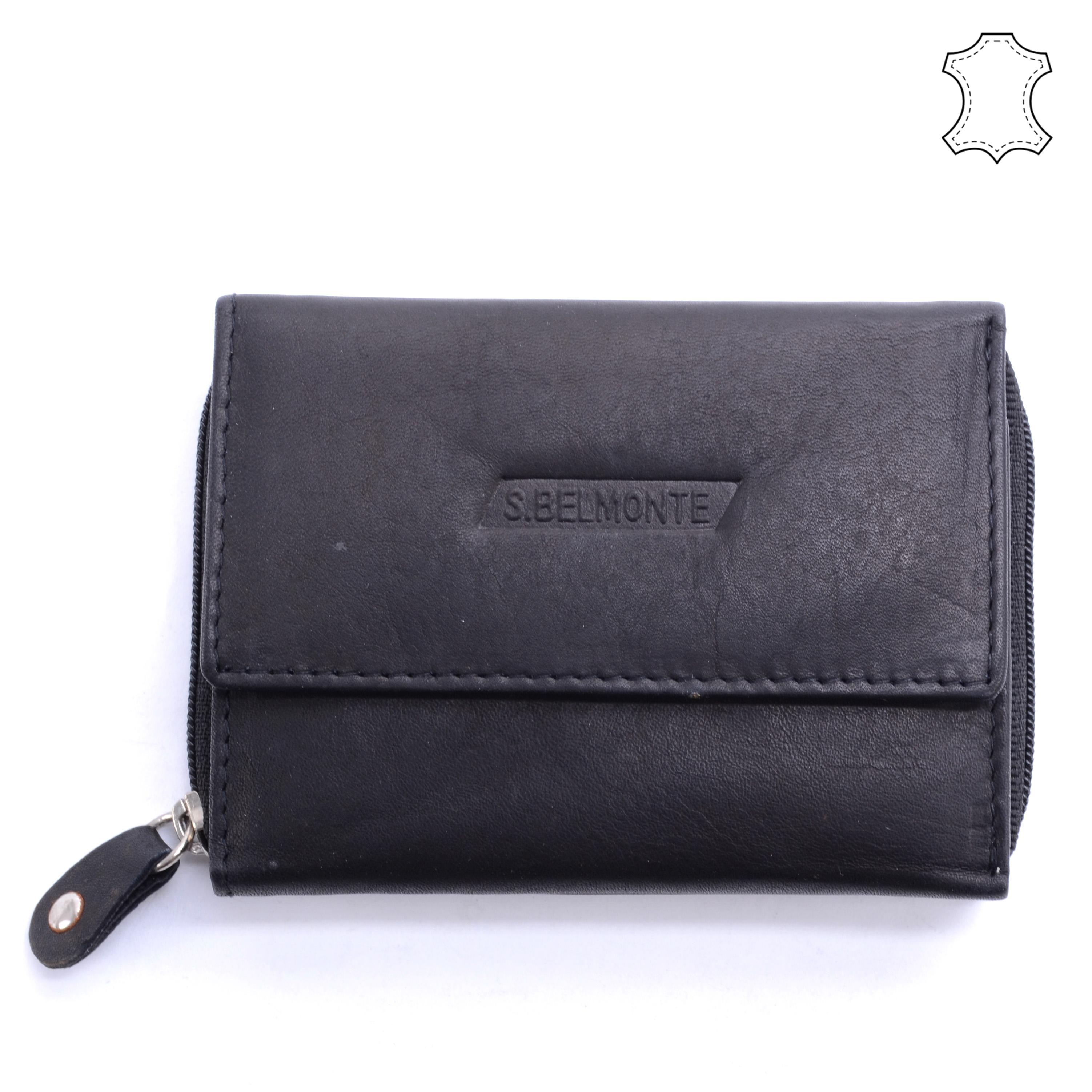 01f72b964b Női Bőr Pénztárca Fekete - NŐI PÉNZTÁRCÁK - Táska webáruház - Minőségi  táskák mindenkinek