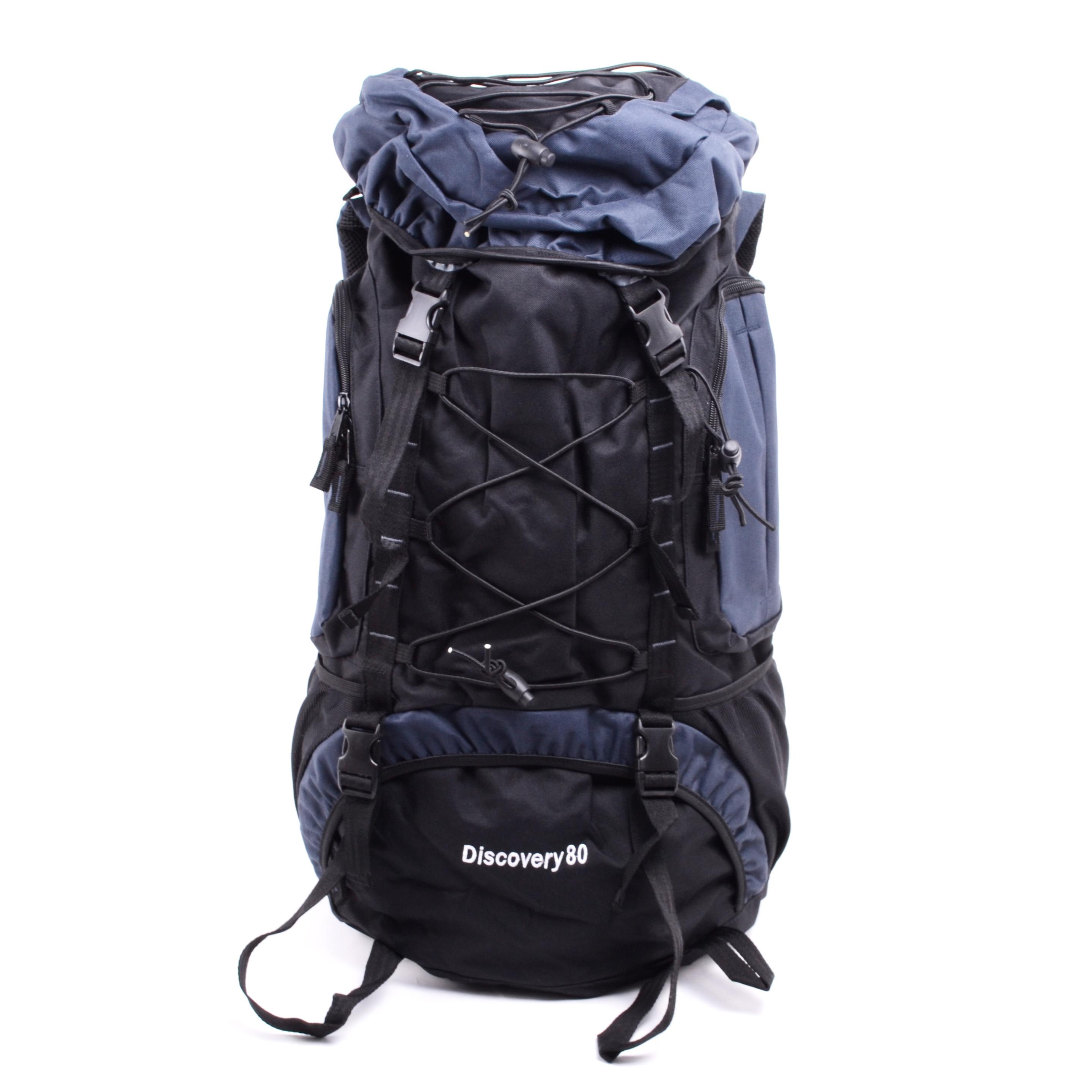 c3a0c4048532 Adventurer Túrahátizsák Fekete-Kék - HÁTIZSÁKOK - Táska webáruház -  Minőségi táskák mindenkinek