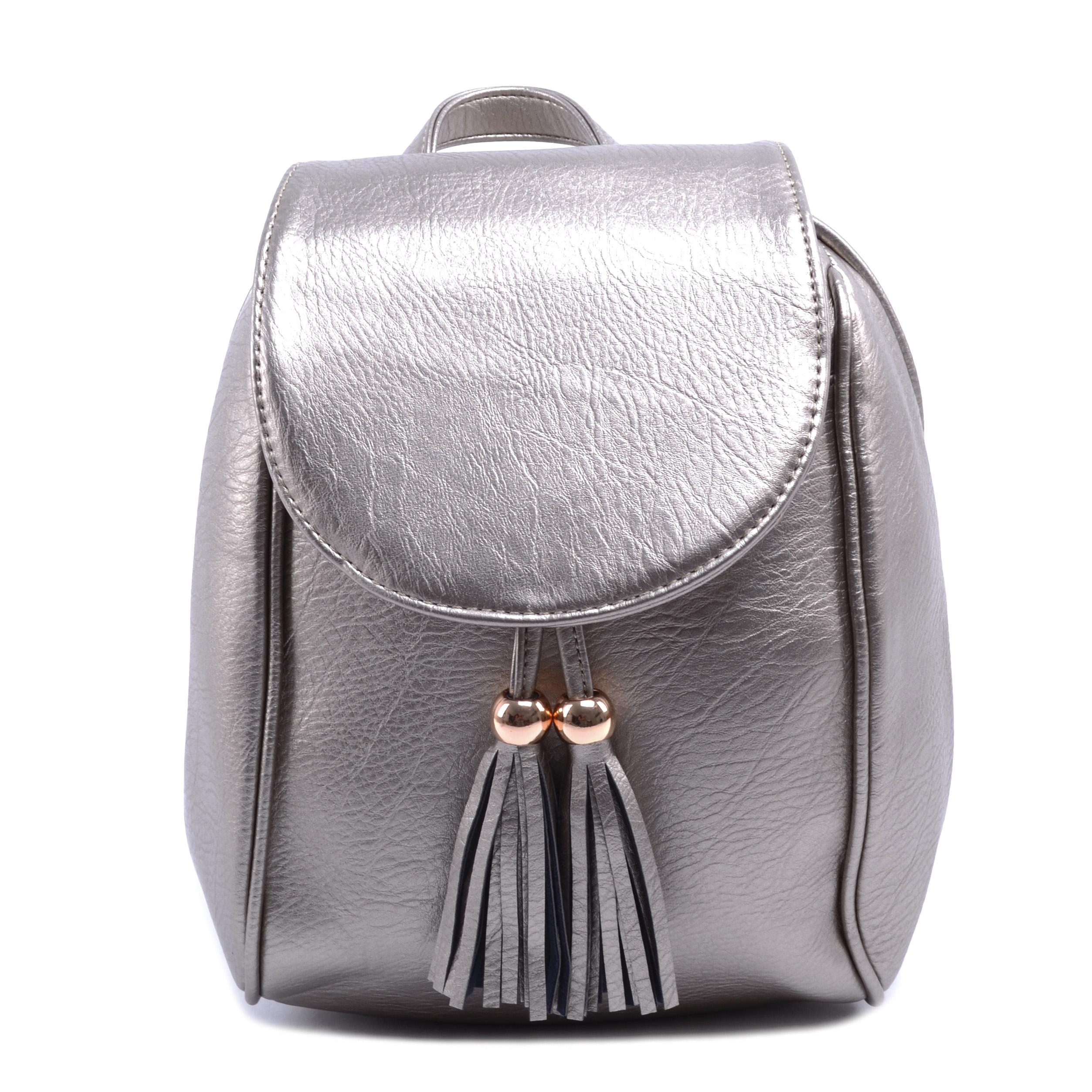 0df930211dc0 SILVIA ROSA Női Műbőr Hátizsák Antik Ezüst - Műbőr - Táska webáruház -  Minőségi táskák mindenkinek