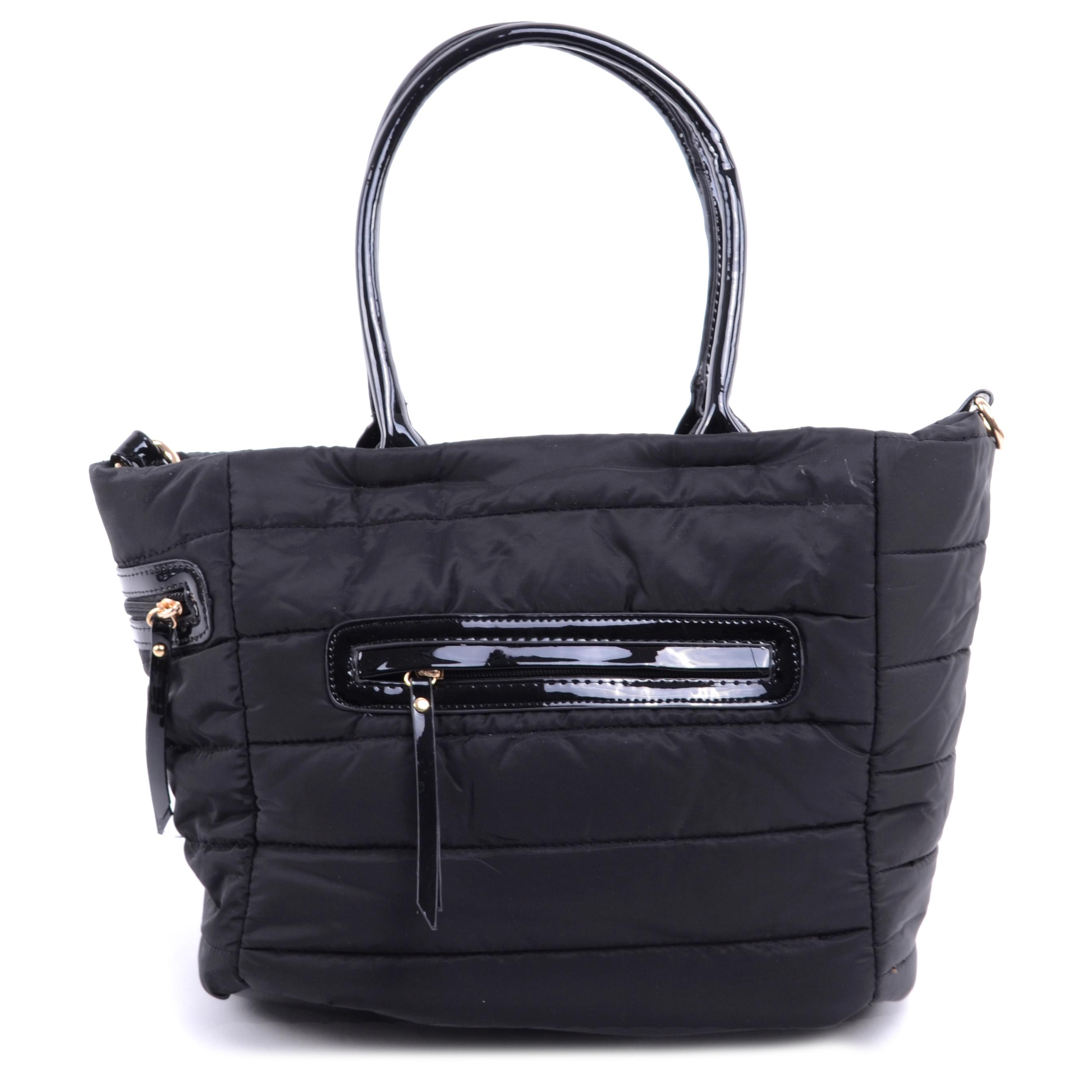 Női Pvc Válltáska Fekete - Válltáskák - Táska webáruház - Minőségi táskák  mindenkinek 19eb94bb0e