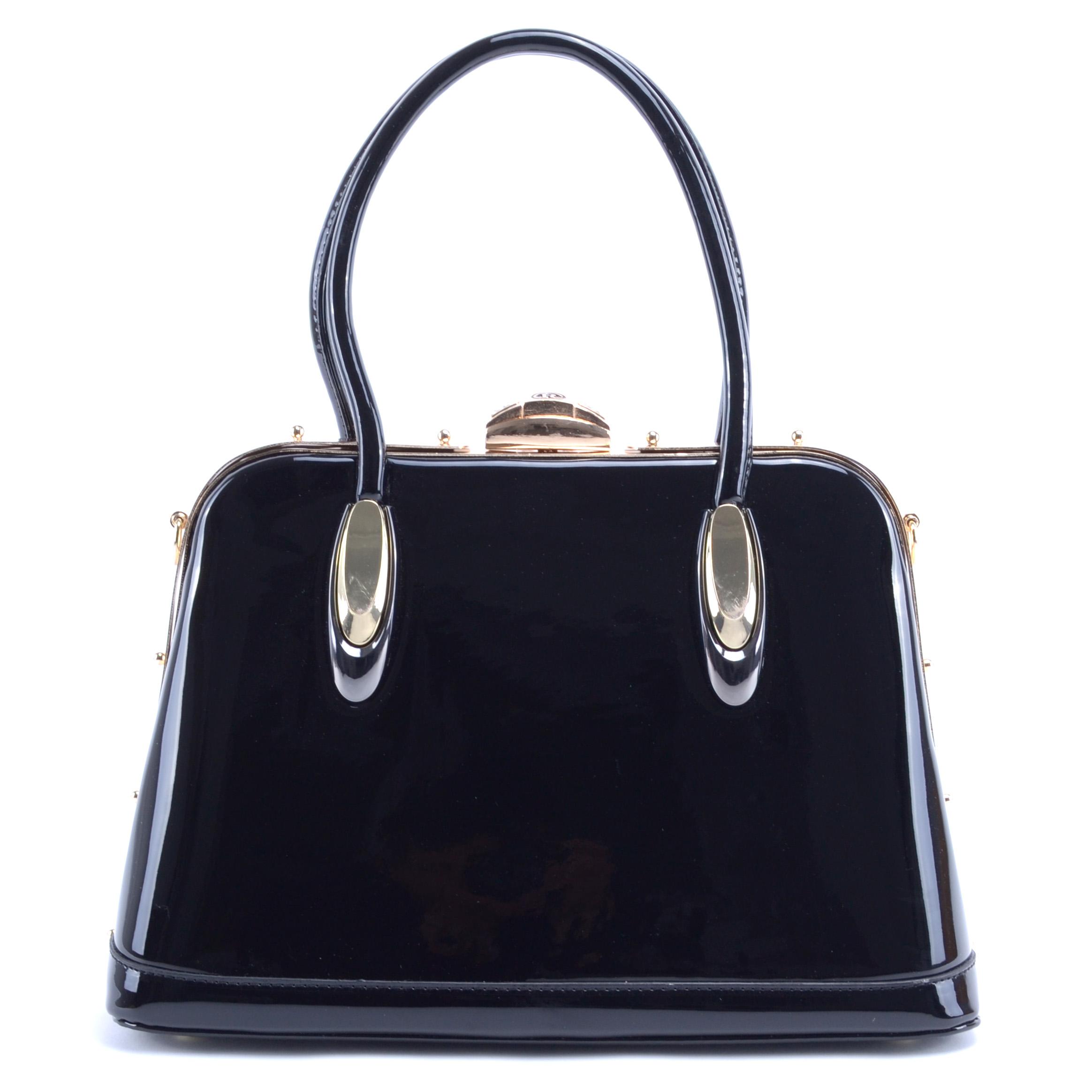 Herisson Női Lakk Válltáska Fekete - Válltáskák - Táska webáruház -  Minőségi táskák mindenkinek a66ce8e6cc