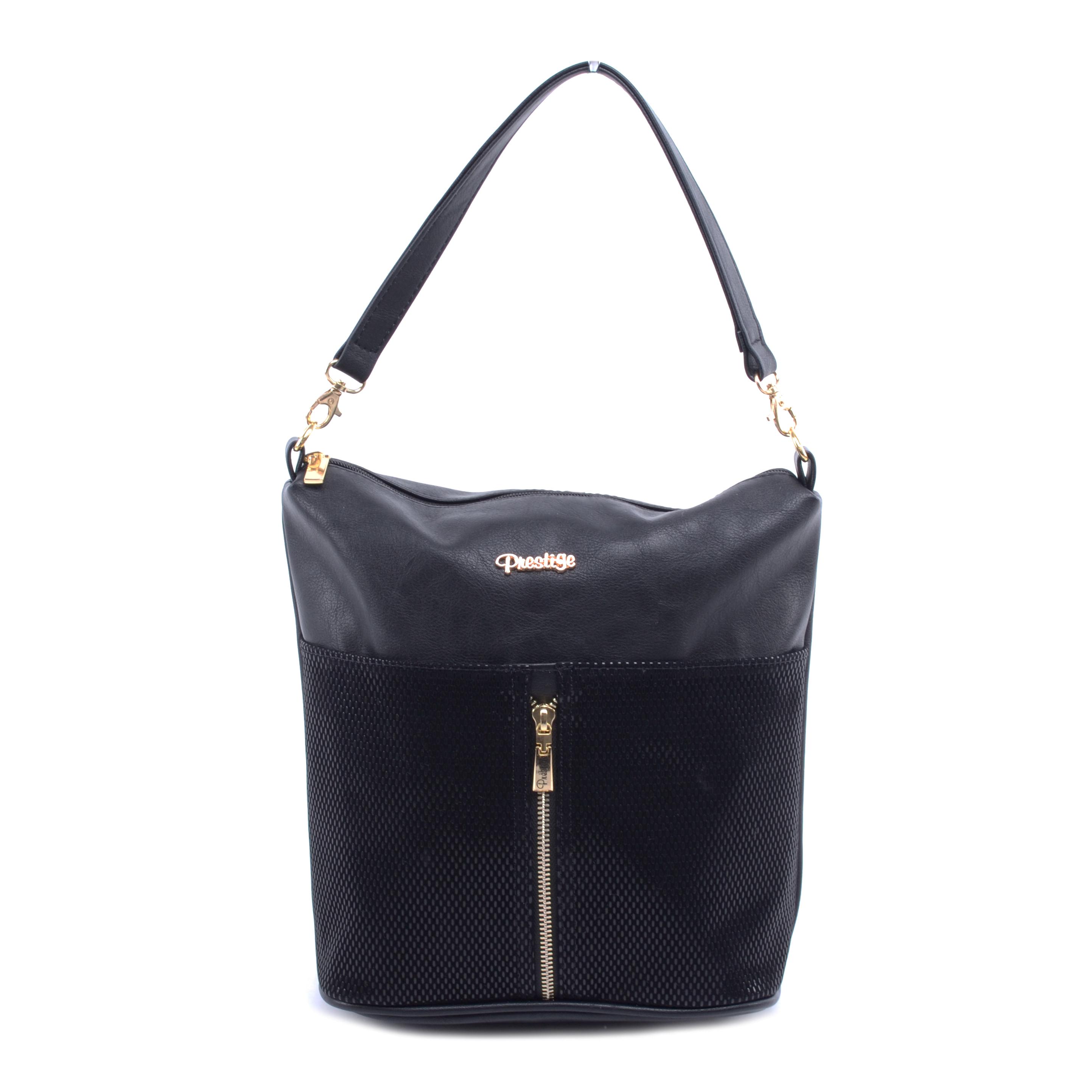 Prestige Női Műbőr-Velúr Válltáska Oldaltáska Fekete - Válltáskák - Táska  webáruház - Minőségi táskák mindenkinek 1741e4d6a3