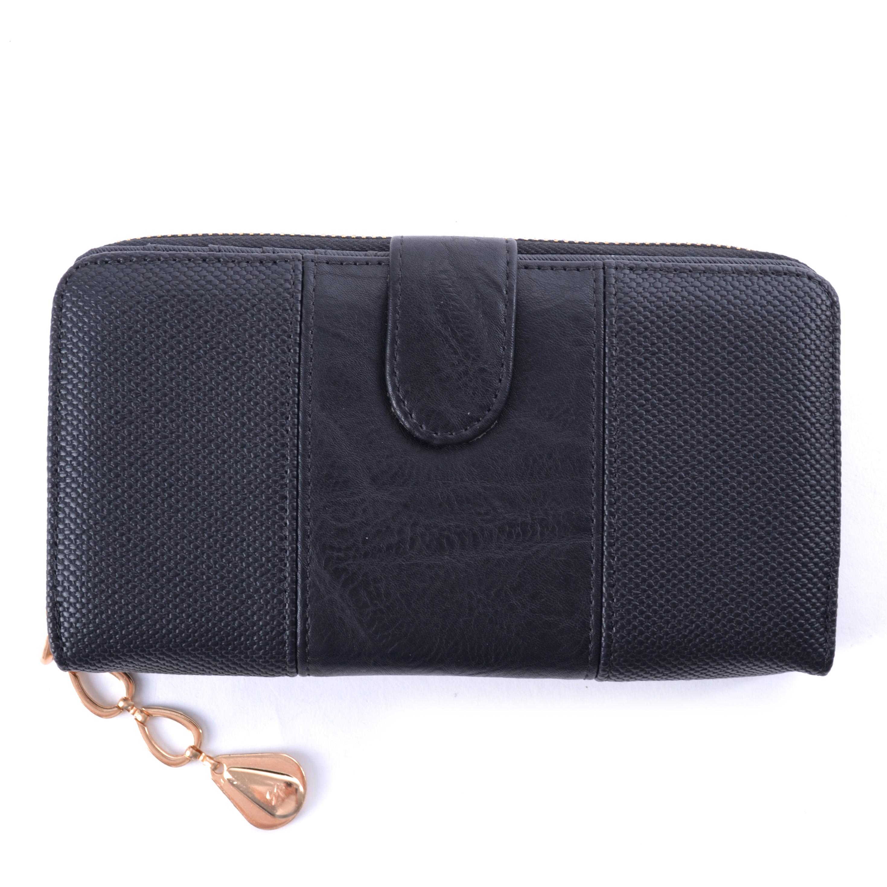 Női Műbőr Pénztárca Fekete - NŐI PÉNZTÁRCÁK - Táska webáruház - Minőségi  táskák mindenkinek 5bd76005d3