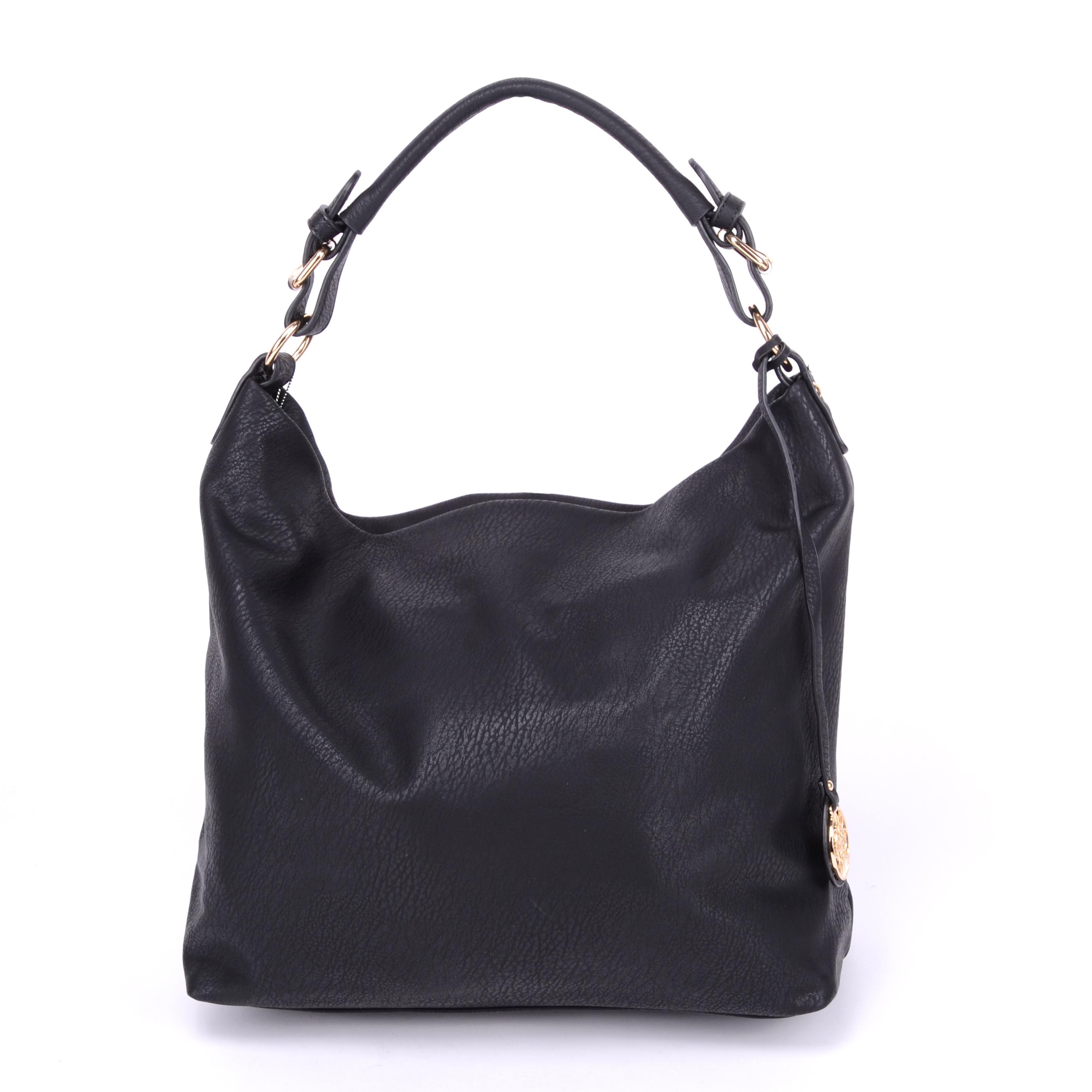 Dudlin Női Műbőr Válltáska Fekete - Válltáskák - Táska webáruház - Minőségi  táskák mindenkinek 09d9a50edb