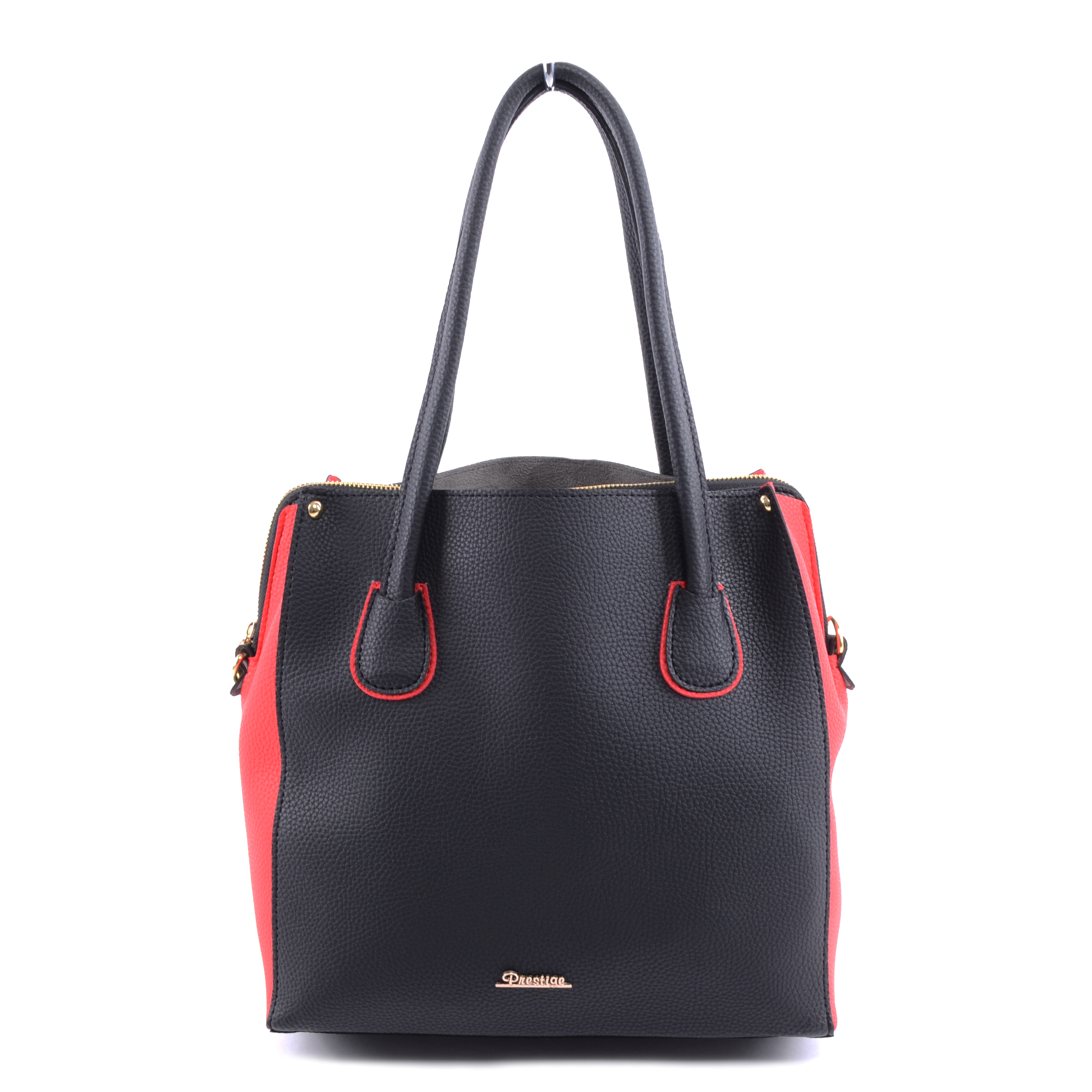 Prestige Női Műbőr Válltáska Fekete-Piros - Válltáskák - Táska webáruház -  Minőségi táskák mindenkinek e06407a80d