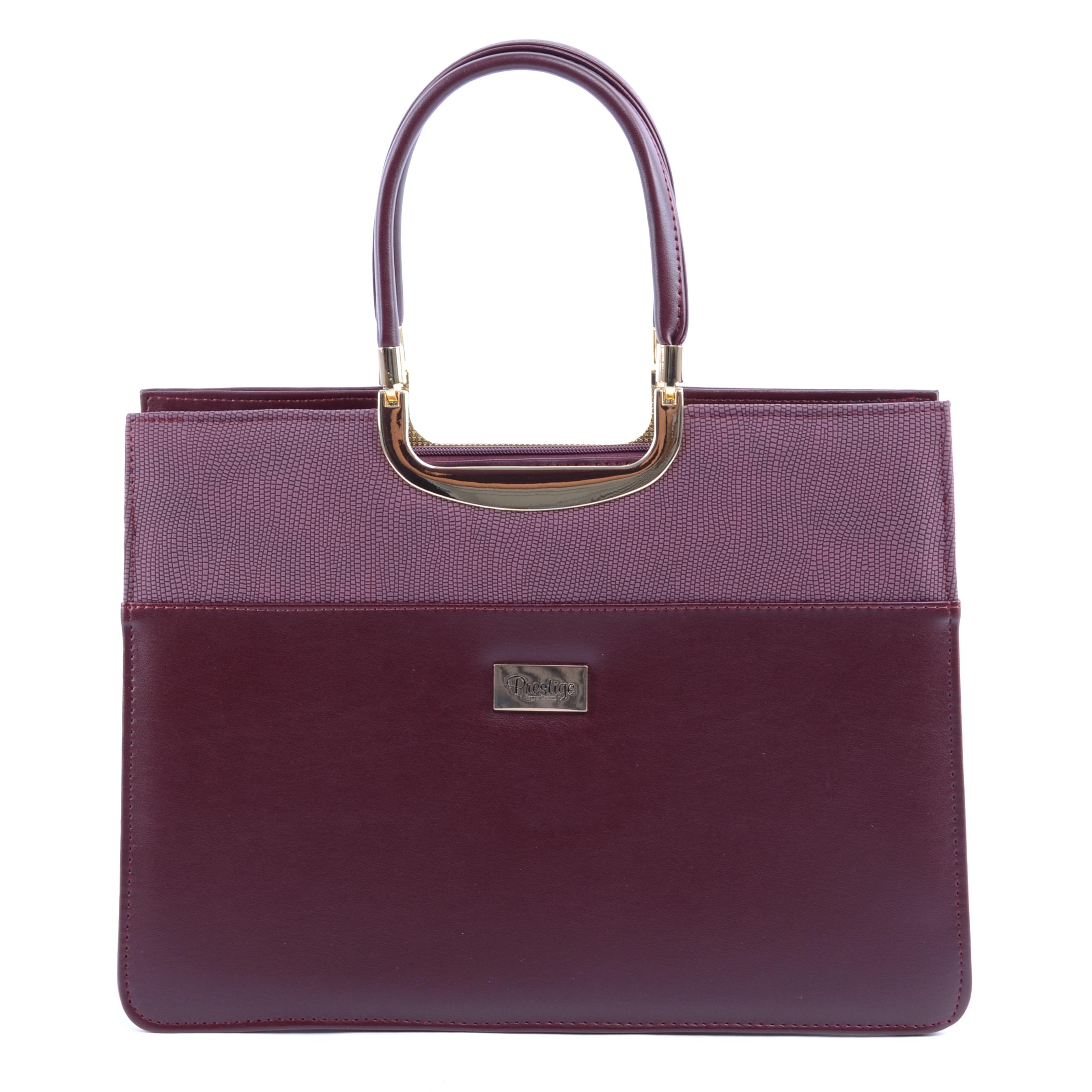 Prestige Női Műbőr Kézitáska Bordó - Kézitáskák - Táska webáruház - Minőségi  táskák mindenkinek 348dc2f9ed