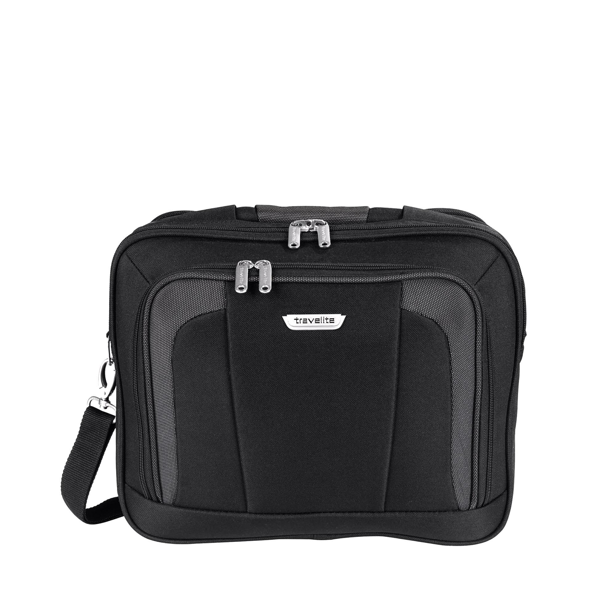 Travelite Orlando Fekete Kézipoggyász - WIZZ AIR INGYENES KÉZIPOGGYÁSZ  (40x30x20 cm) - Táska webáruház - Minőségi táskák mindenkinek 29ef4840f3