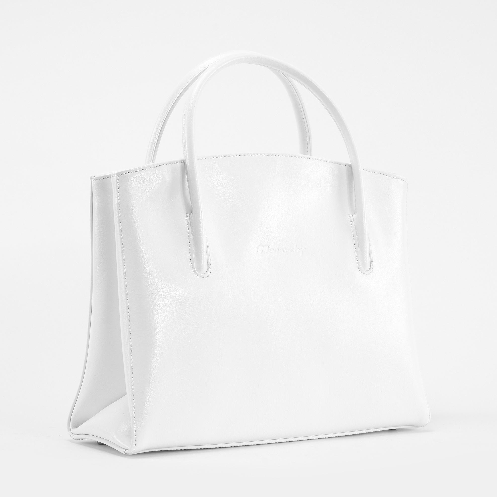 42c9cb1fb37e Monarchy Everyday Fehér Női Valódi Bőr Válltáska - Válltáskák - Táska  webáruház - Minőségi táskák mindenkinek