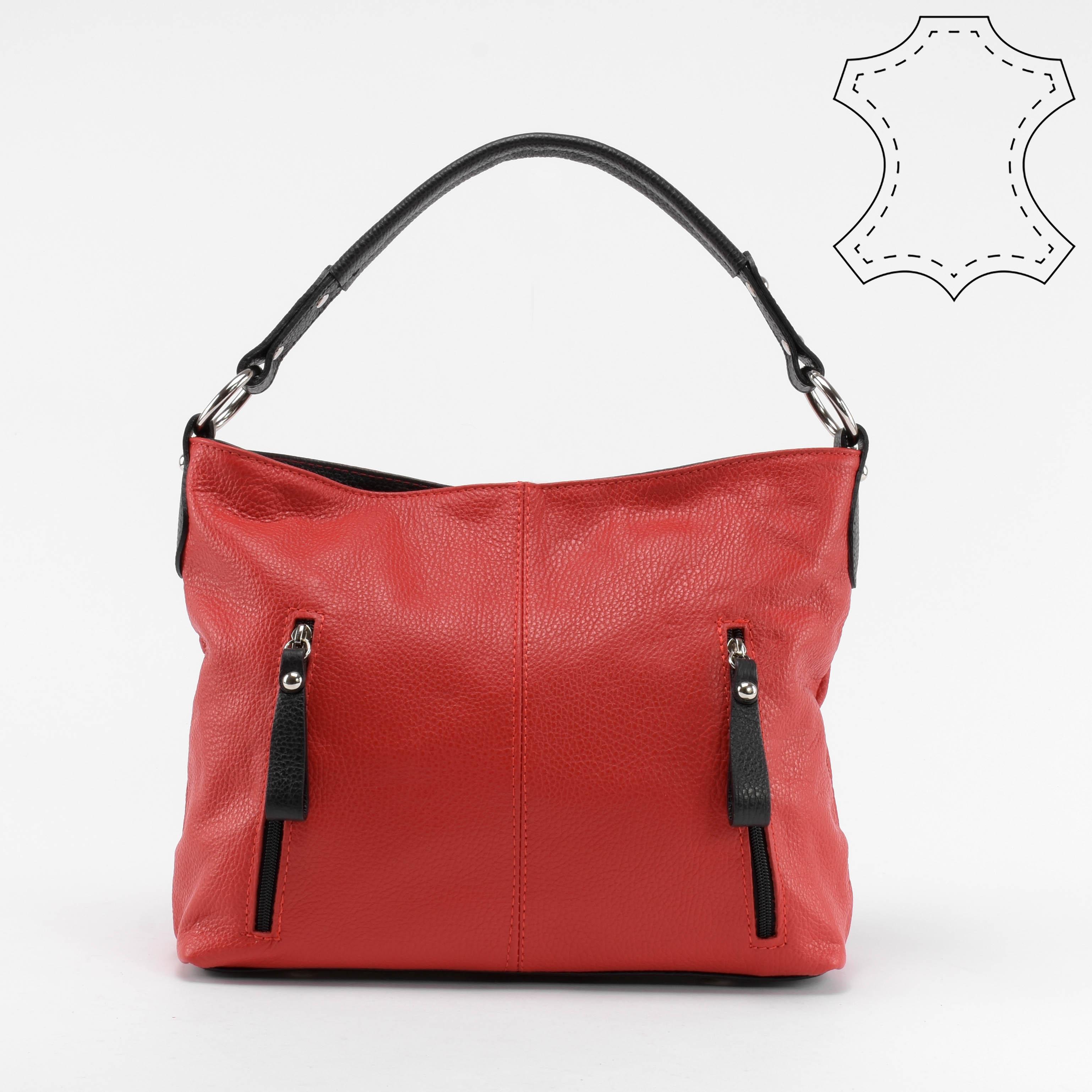 Női Piros Valódi Bőr Oldaltáska és Válltáska - Válltáskák - Táska webáruház  - Minőségi táskák mindenkinek 545b4b5318