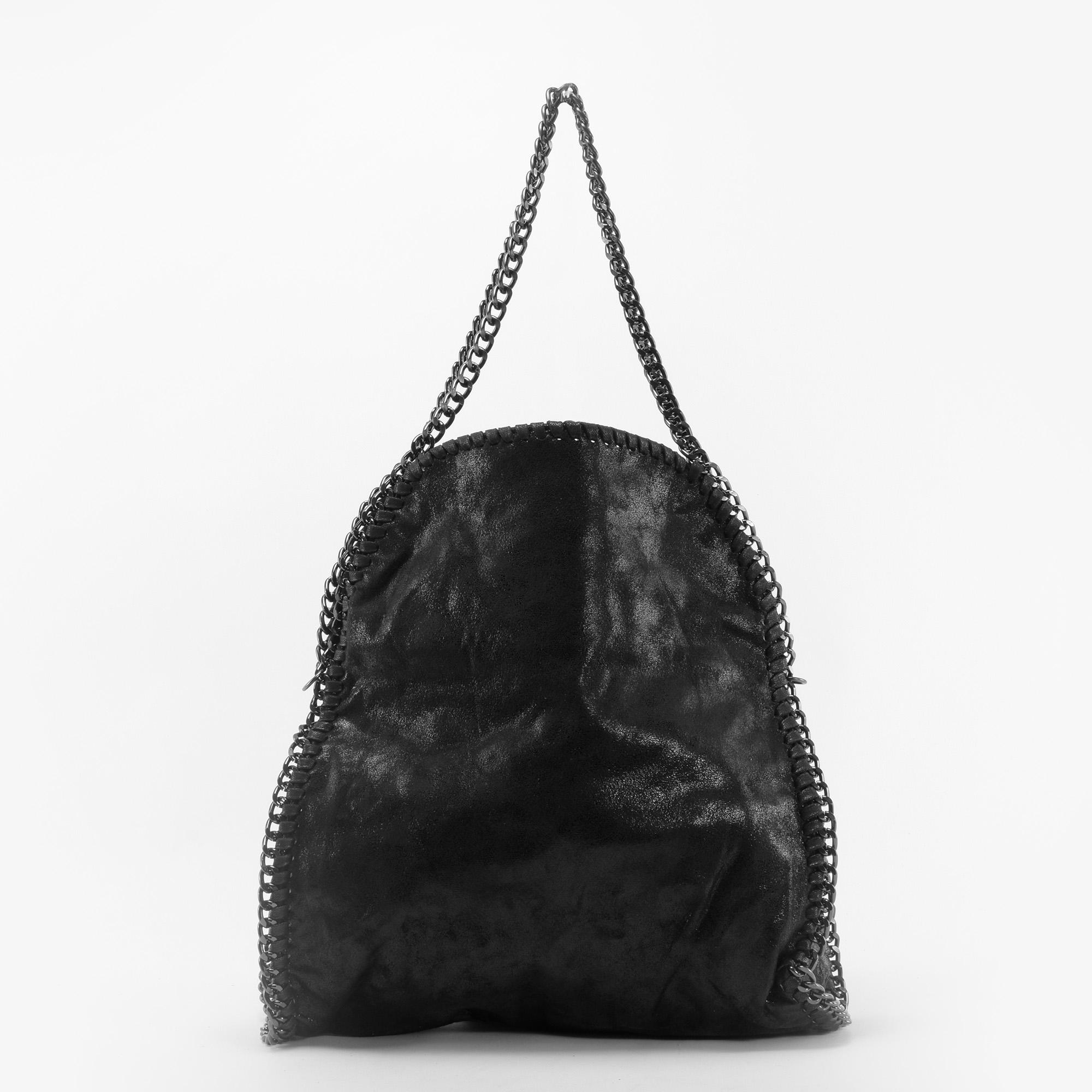 0d9c818f2867 Venti Fekete Láncos Női Műbőr Válltáska - Válltáskák - Táska webáruház - Minőségi  táskák mindenkinek