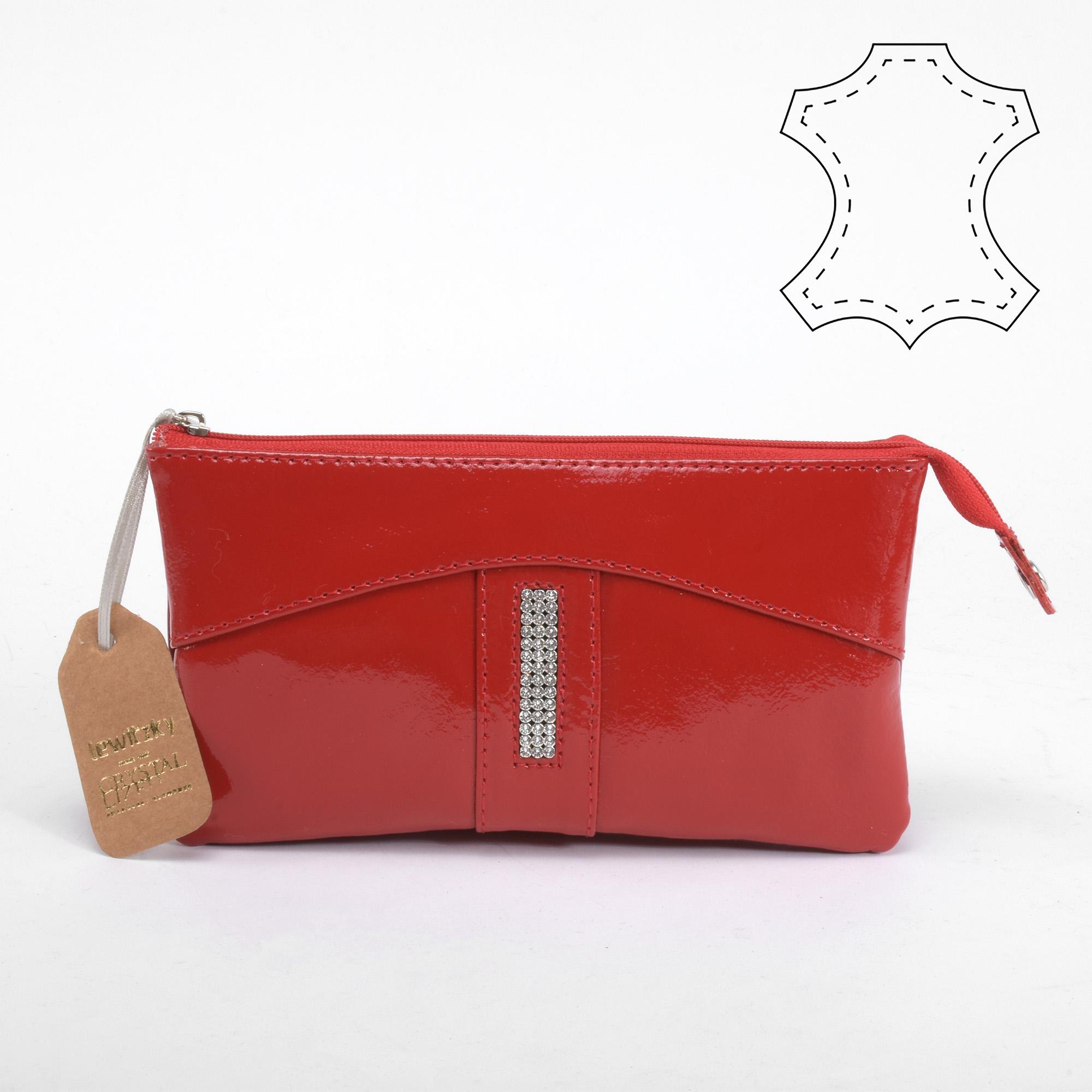 bdc37e17c6 Lewitzky Swarovski köves piros bőr pénztárca - NŐI PÉNZTÁRCÁK - Táska  webáruház - Minőségi táskák mindenkinek