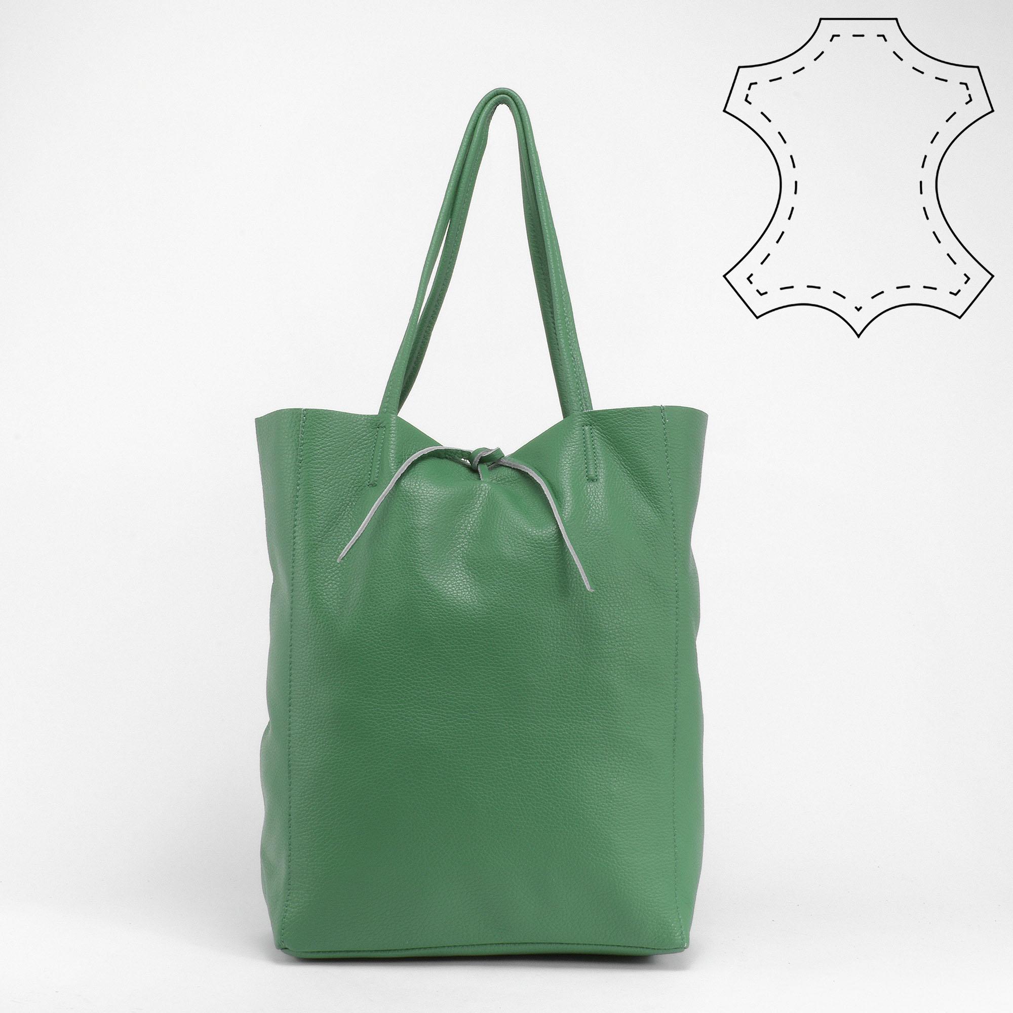30b6fc670008 Vivien zöld valódi bőrválltáska - Válltáskák - Táska webáruház - Minőségi  táskák mindenkinek