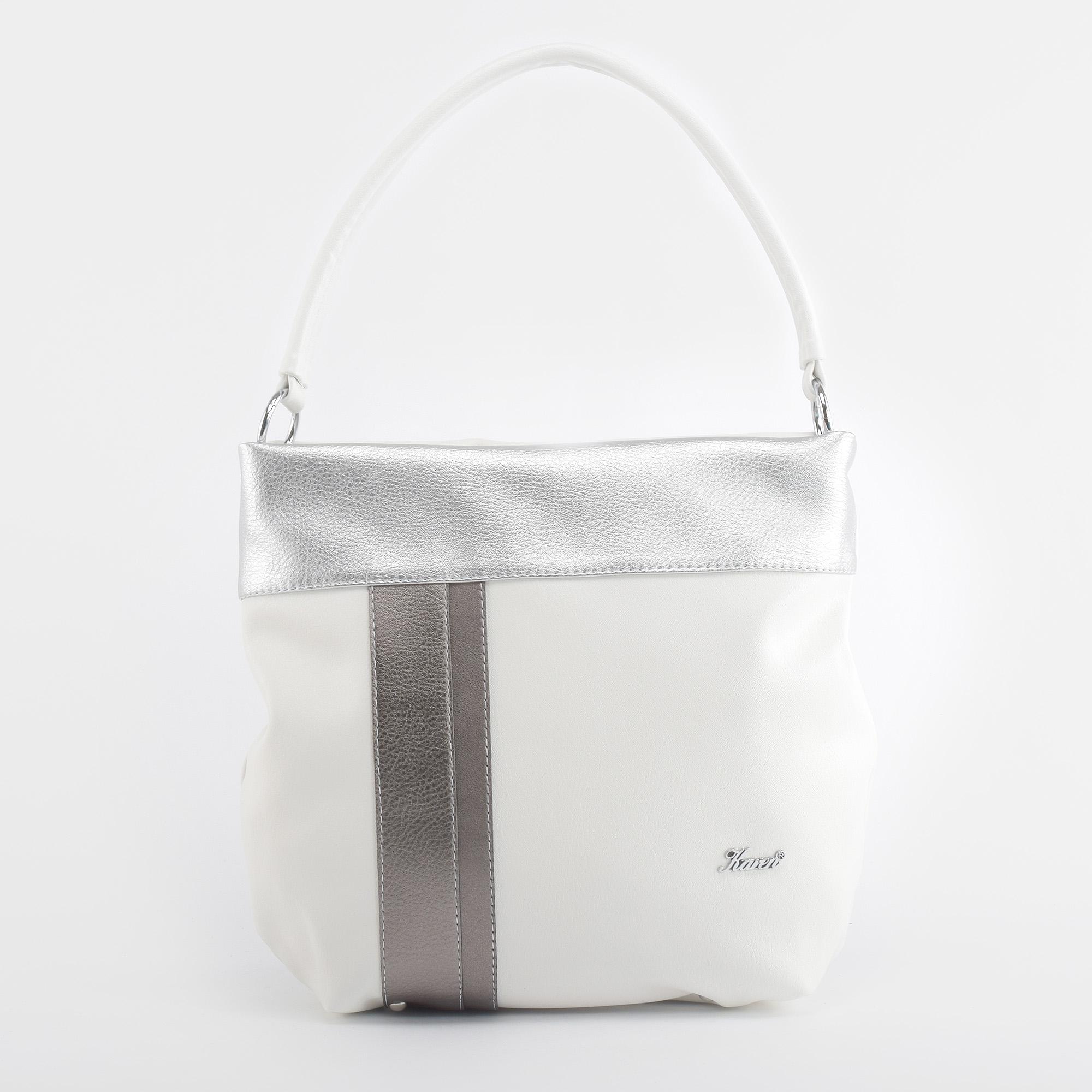 4c0d588e827c Karen Női Ezüst Rostbőr Válltáska - Válltáskák - Táska webáruház - Minőségi  táskák mindenkinek