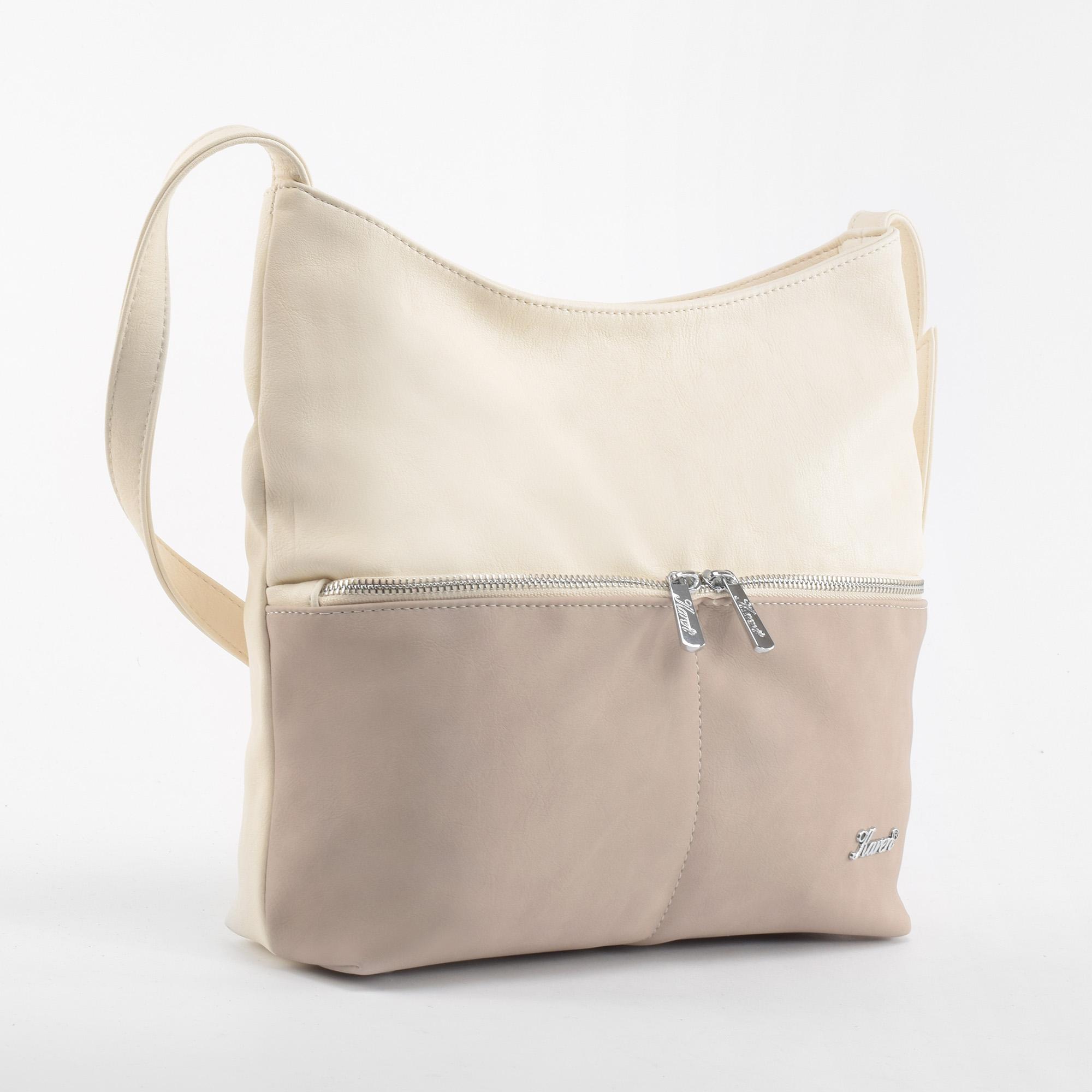 090fa3fc0b Karen Női Bézs Rostbőr Oldaltáska - Oldaltáskák - Táska webáruház -  Minőségi táskák mindenkinek