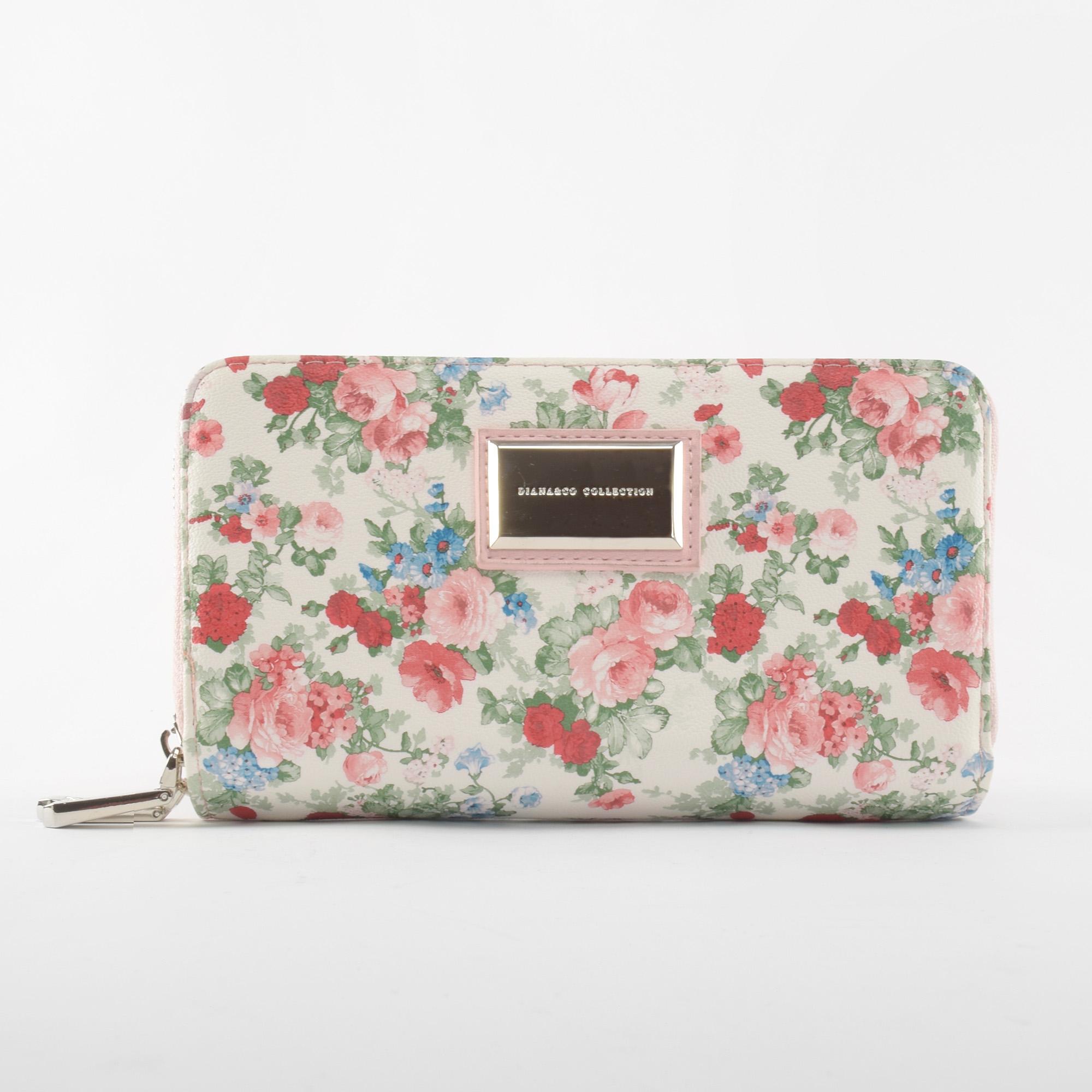 7b3660fb32 Diana & Co Firenze Rózsaszín Rostbőr Pénztárca - NŐI PÉNZTÁRCÁK - Táska  webáruház - Minőségi táskák mindenkinek
