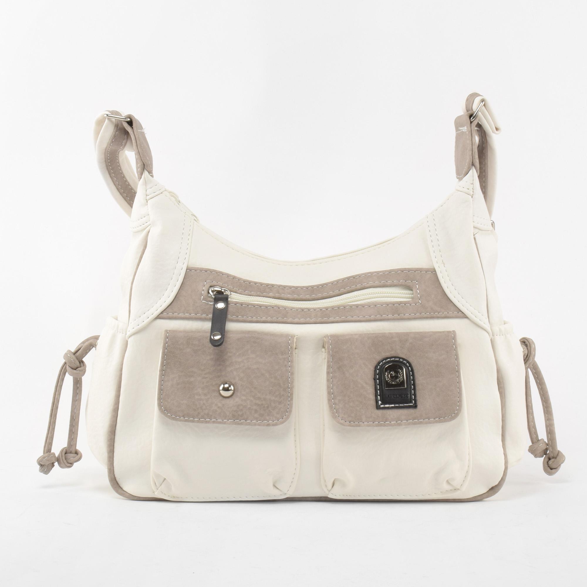 0a40144f9be3 Besty Női Fehér Műbőr Oldaltáska - Oldaltáskák - Táska webáruház - Minőségi  táskák mindenkinek