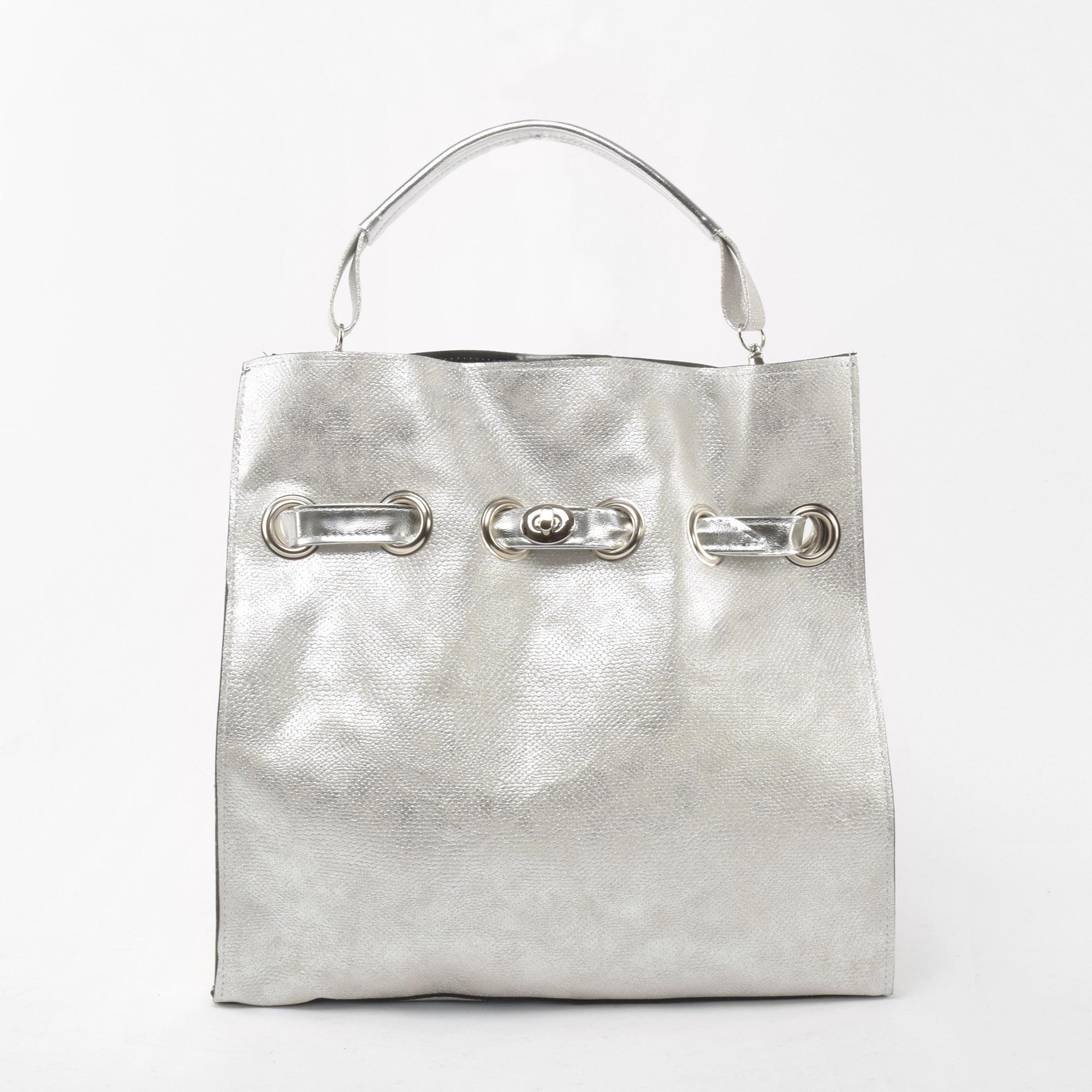 d6b2bf52e21a Prestige Női Ezüst Kígyóbőr mintás válltáska - Válltáskák - Táska webáruház  - Minőségi táskák mindenkinek