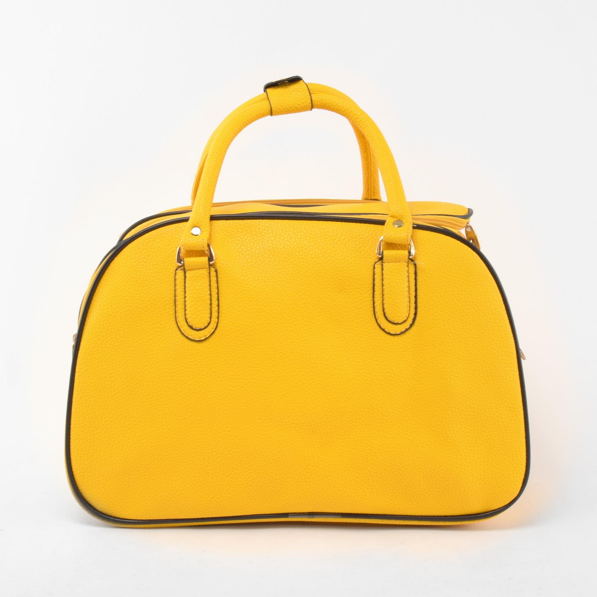 33ab2e26e060 Besty Wizzair Méretű Sárga Műbőr Utazótáska - KIS MÉRETŰ UTAZÓTÁSKA - Táska  webáruház - Minőségi táskák mindenkinek