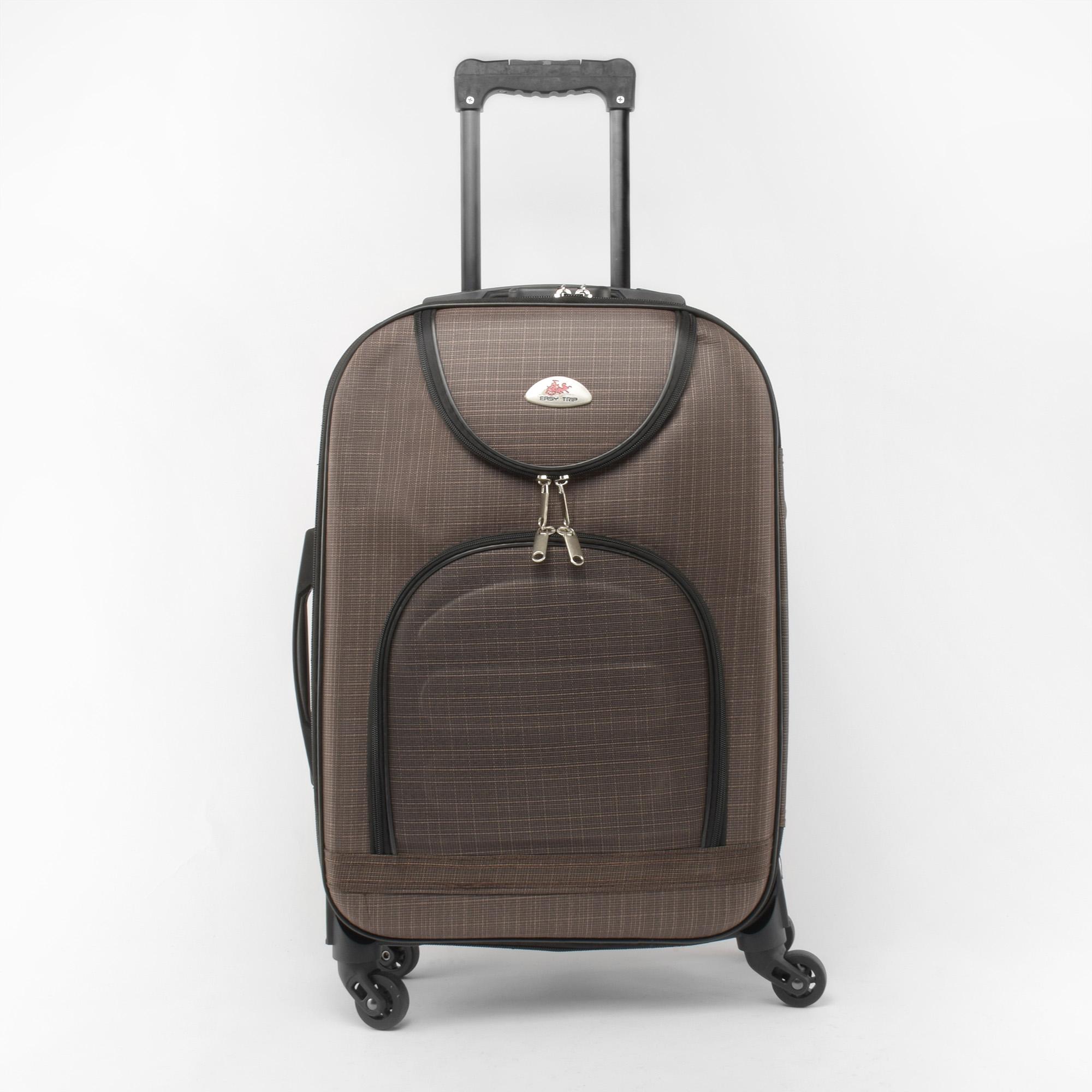 eeda9ae55b79 Easy Trip Barna Puha falú Négy kerekű Közepes méretű Bőrönd Kivehető  kerékkel - KÖZEPES MÉRETŰ BŐRÖNDÖK - Táska webáruház - Minőségi táskák  mindenkinek