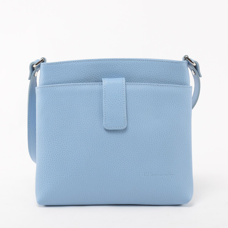 1462f032a4e8 Monarchy Világos Kék Női Bőr Oldaltáska - Oldaltáskák - Táska webáruház - Minőségi  táskák mindenkinek