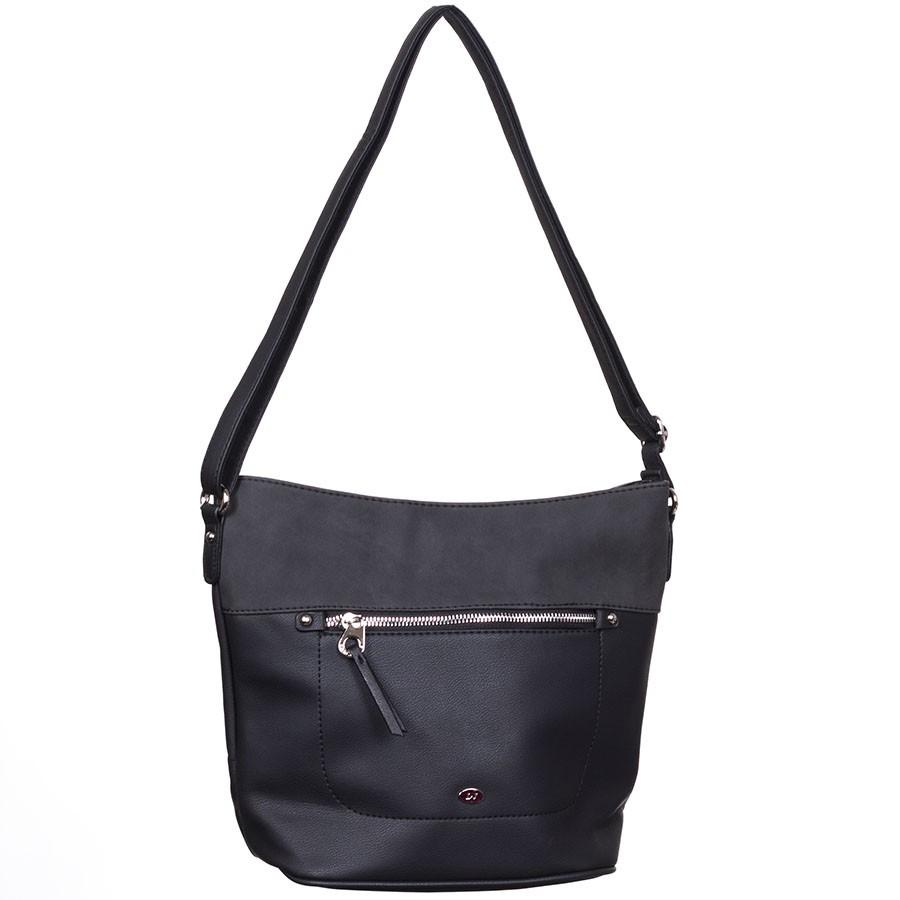 b4212cdff27e David Jones Divatos Kis Fekete Női Válltáska - Válltáskák - Táska webáruház  - Minőségi táskák mindenkinek